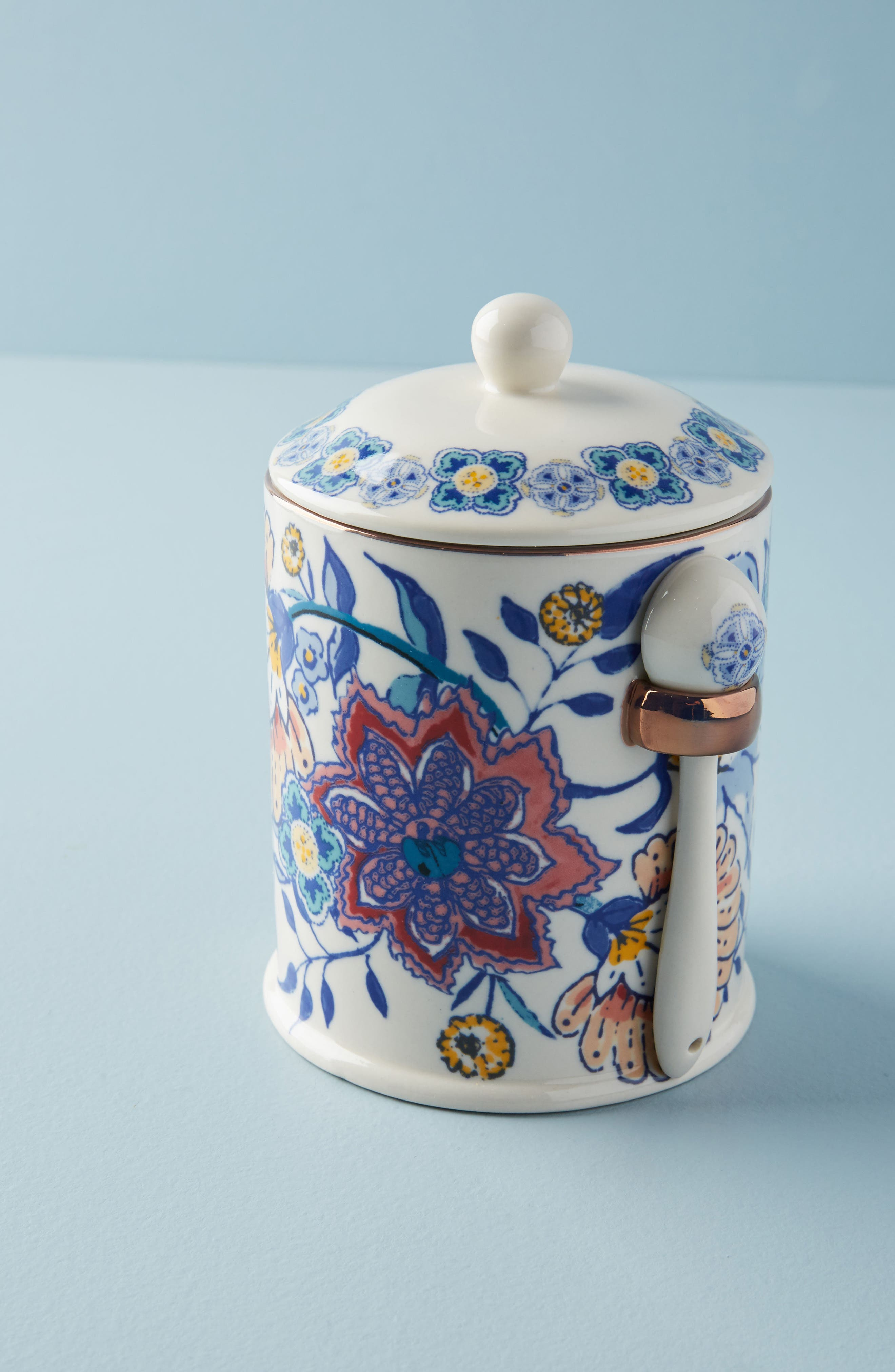 Calden Canister,                             Main thumbnail 1, color,                             Blue Combo
