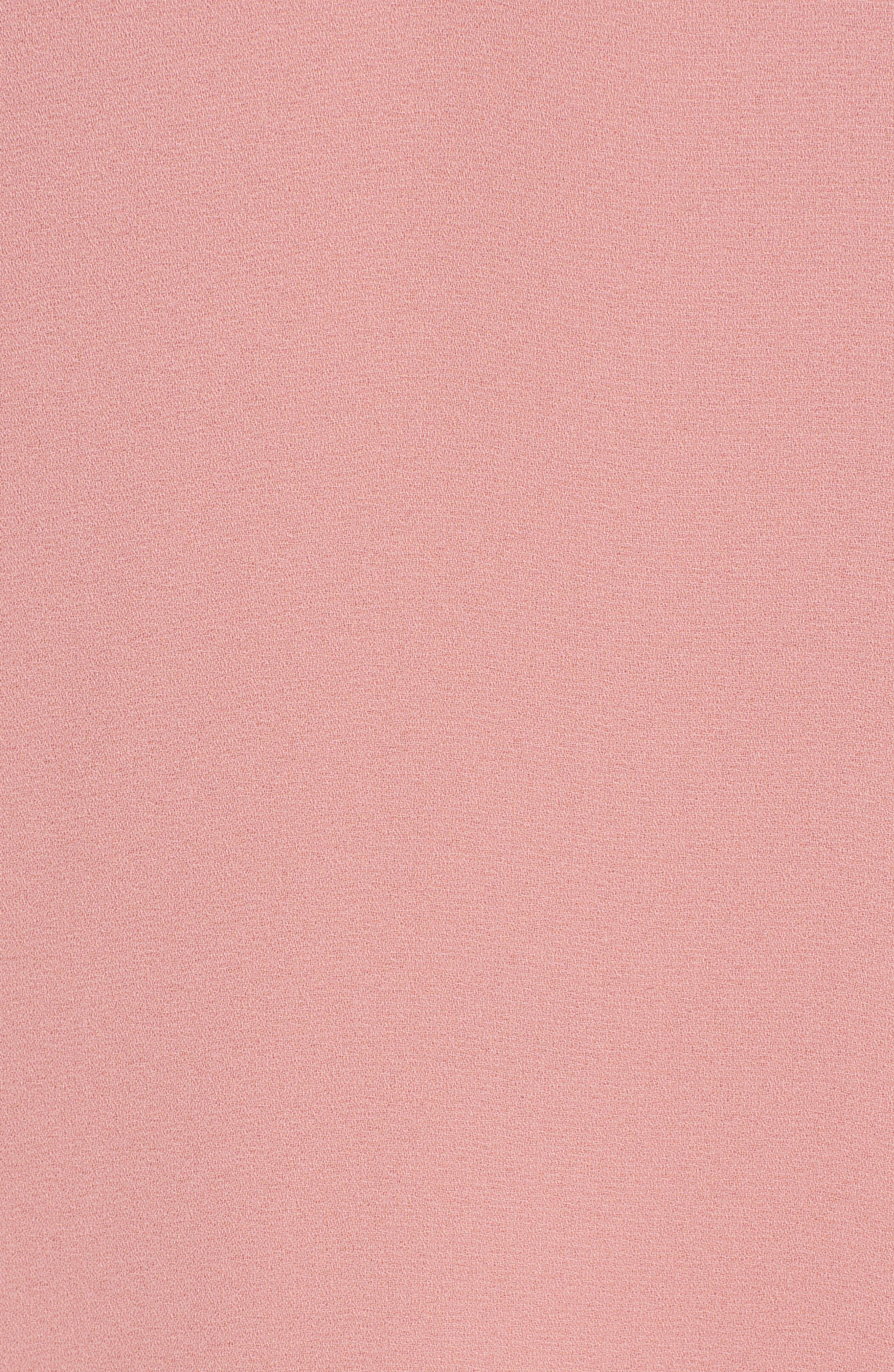 Roll Tab Sleeve Woven Shirt,                             Alternate thumbnail 6, color,                             Dusty Rose