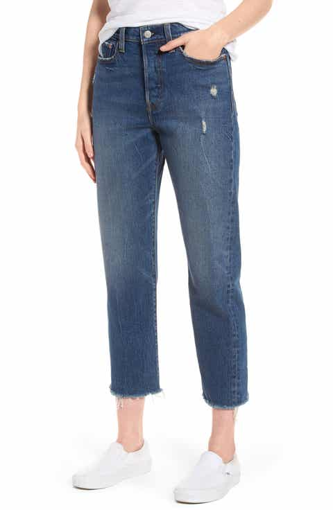 Levis? Wedgie High Waist Straight Jeans (Lasting Impression)