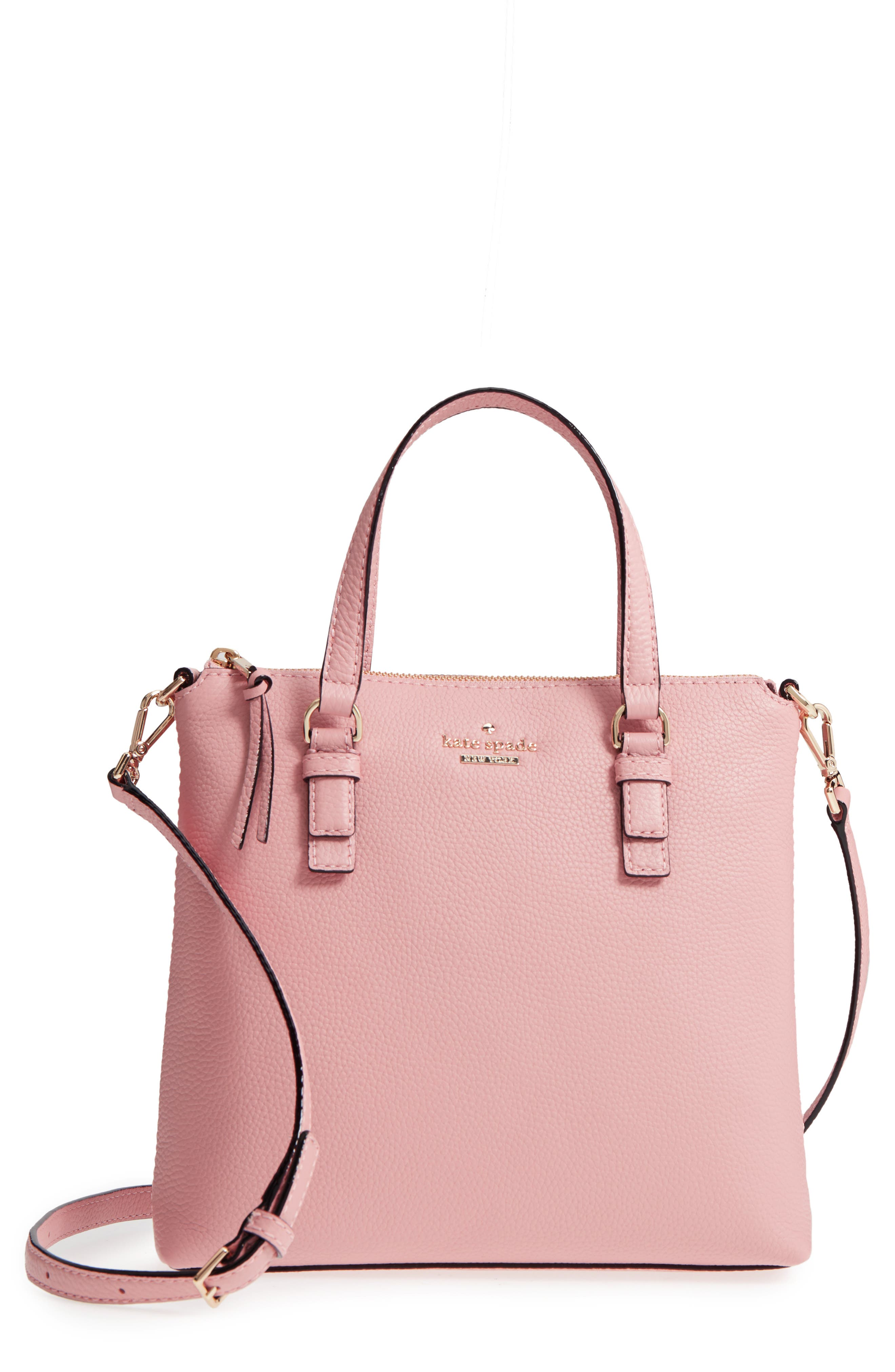 kate spade new york jackson street - hayley leather satchel