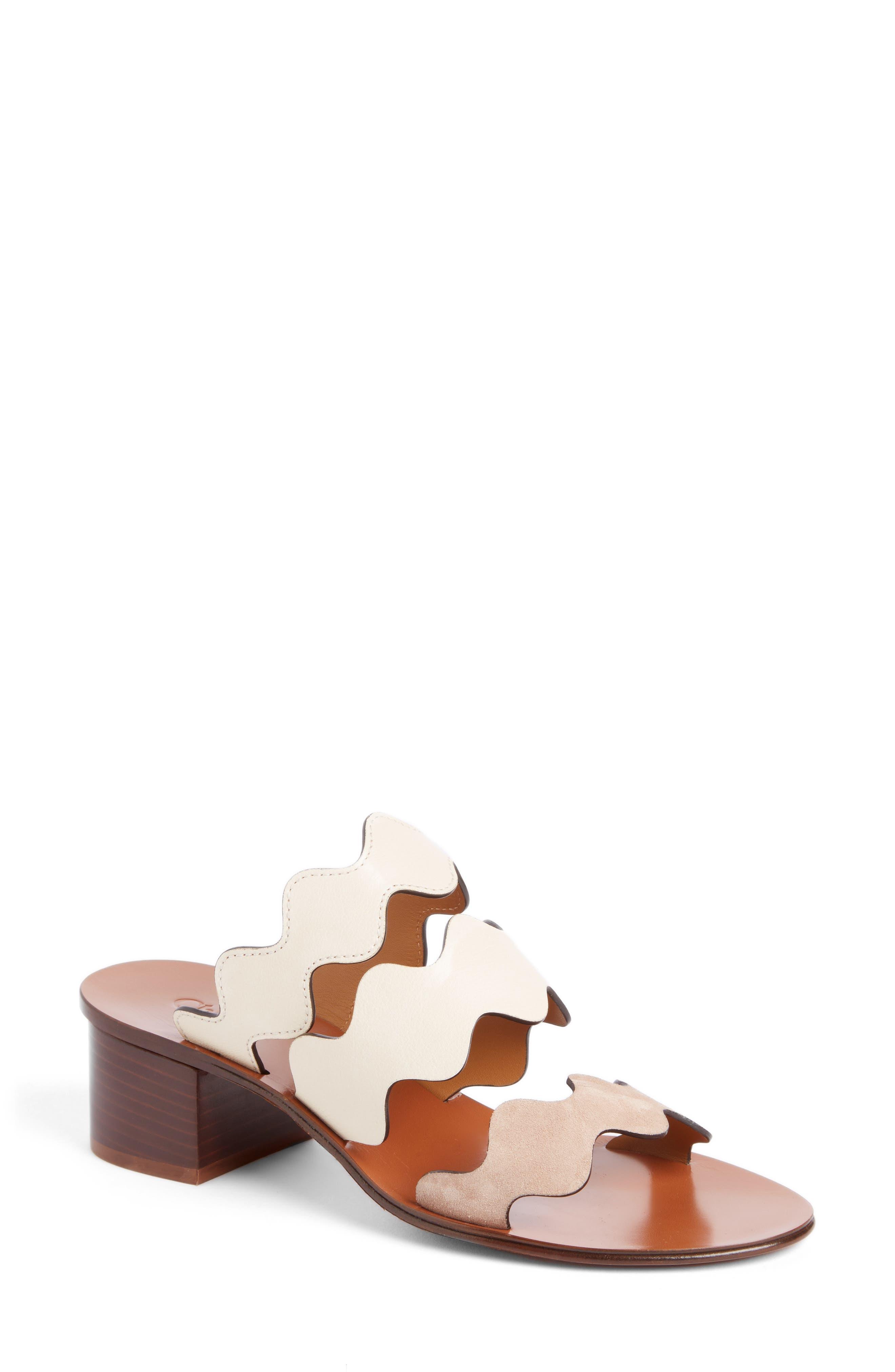Chloé Lauren Slide Sandal (Women)