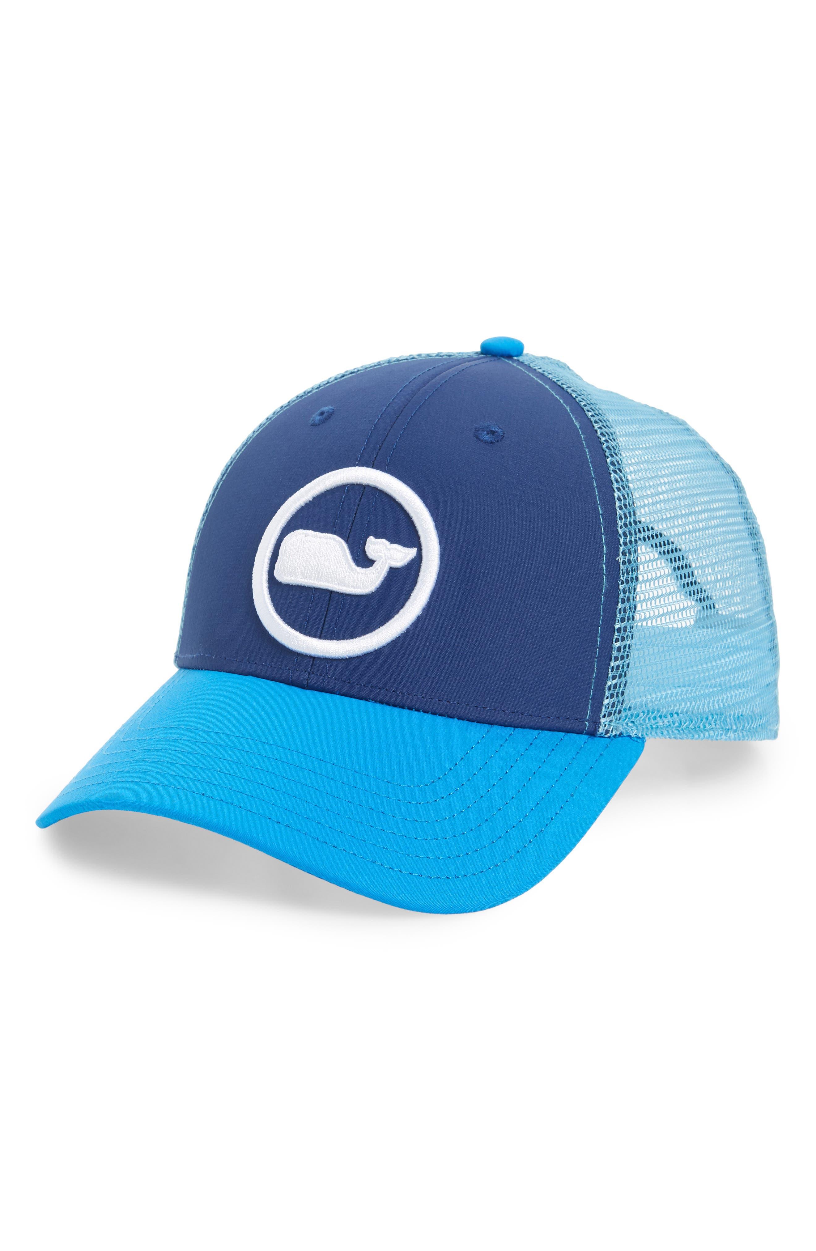 Vineyard Vines Whale Dot Trucker Cap - Blue In Moonshine  529d05b8b32f