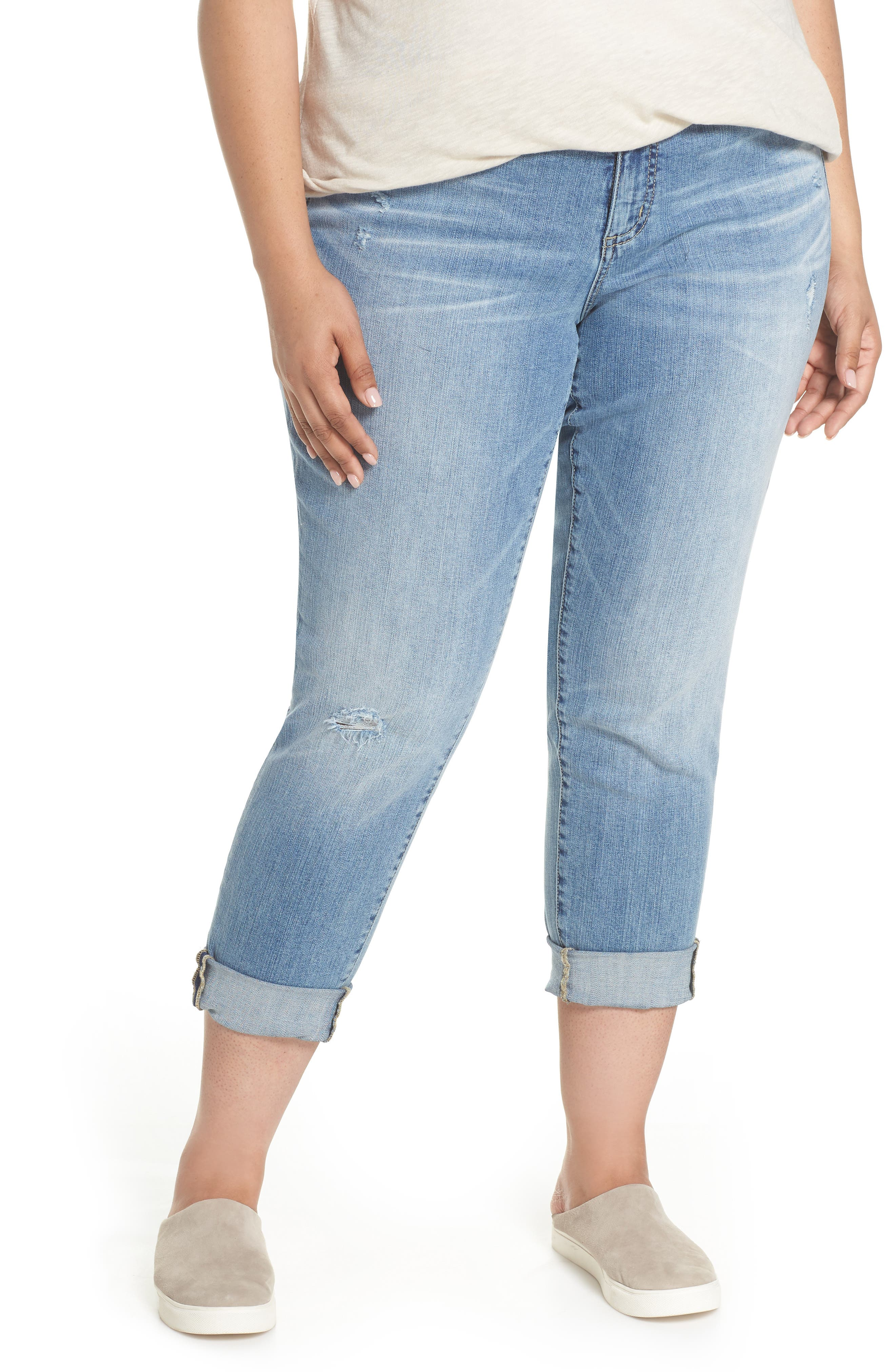 Distressed Jeans,                             Main thumbnail 1, color,                             Medium Destruct