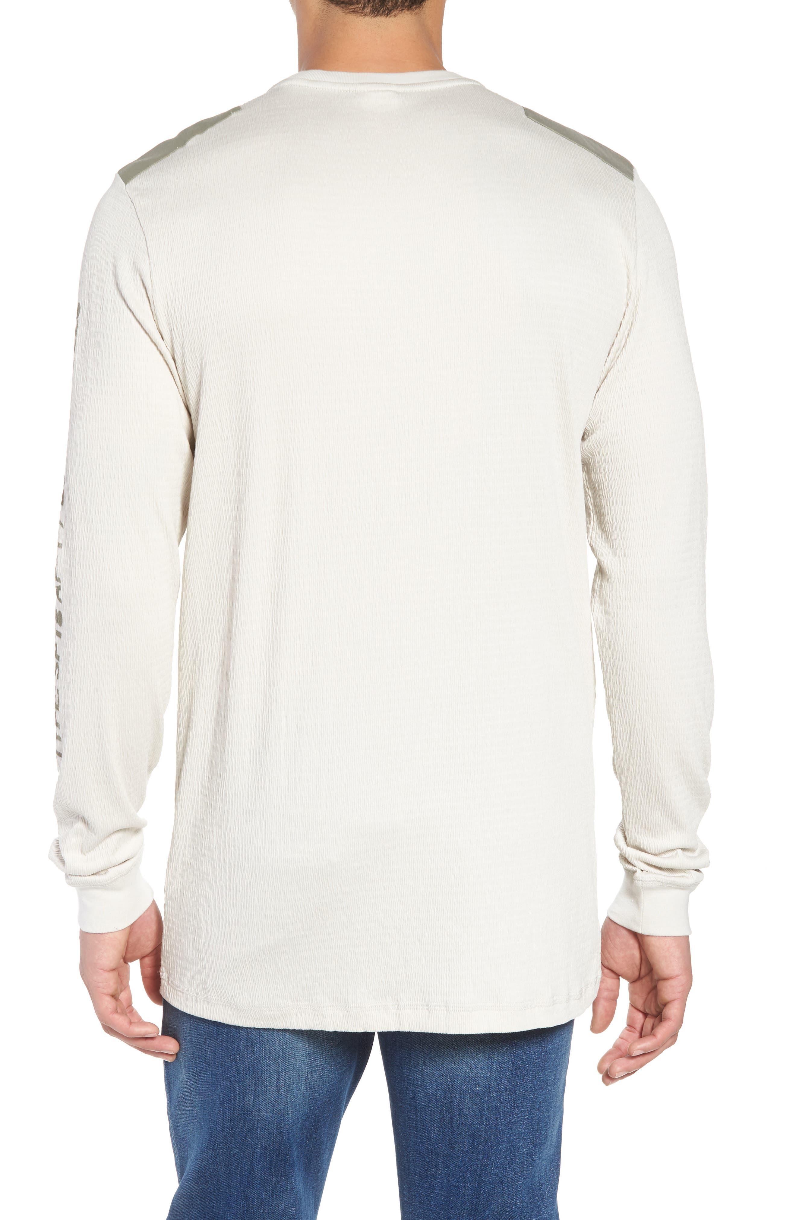 Sportswear AF-1 Long Sleeve Shirt,                             Alternate thumbnail 2, color,                             Light Bone/ Stucco/ Stucco