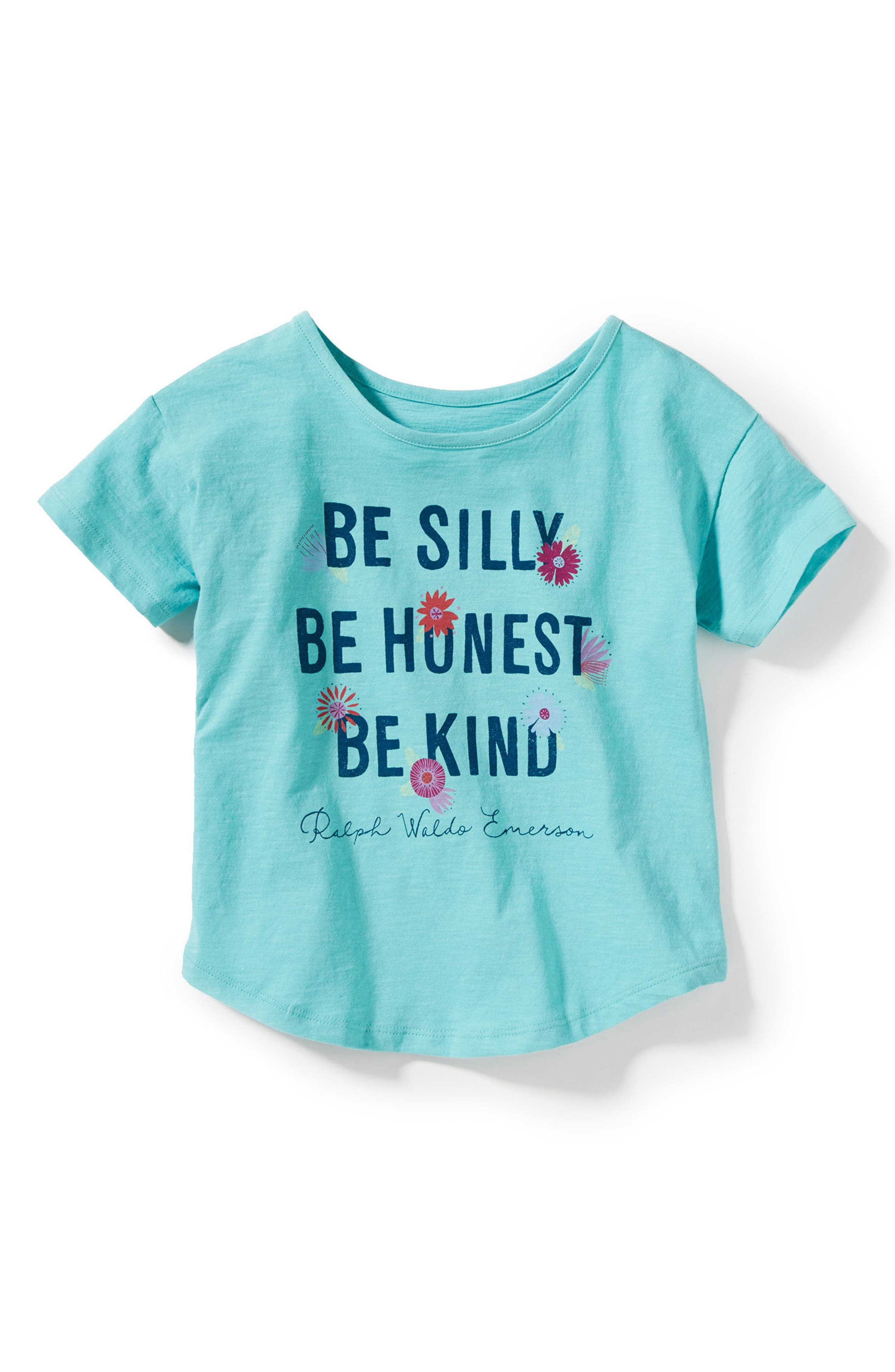 Be Silly Tee,                             Main thumbnail 1, color,                             Mint