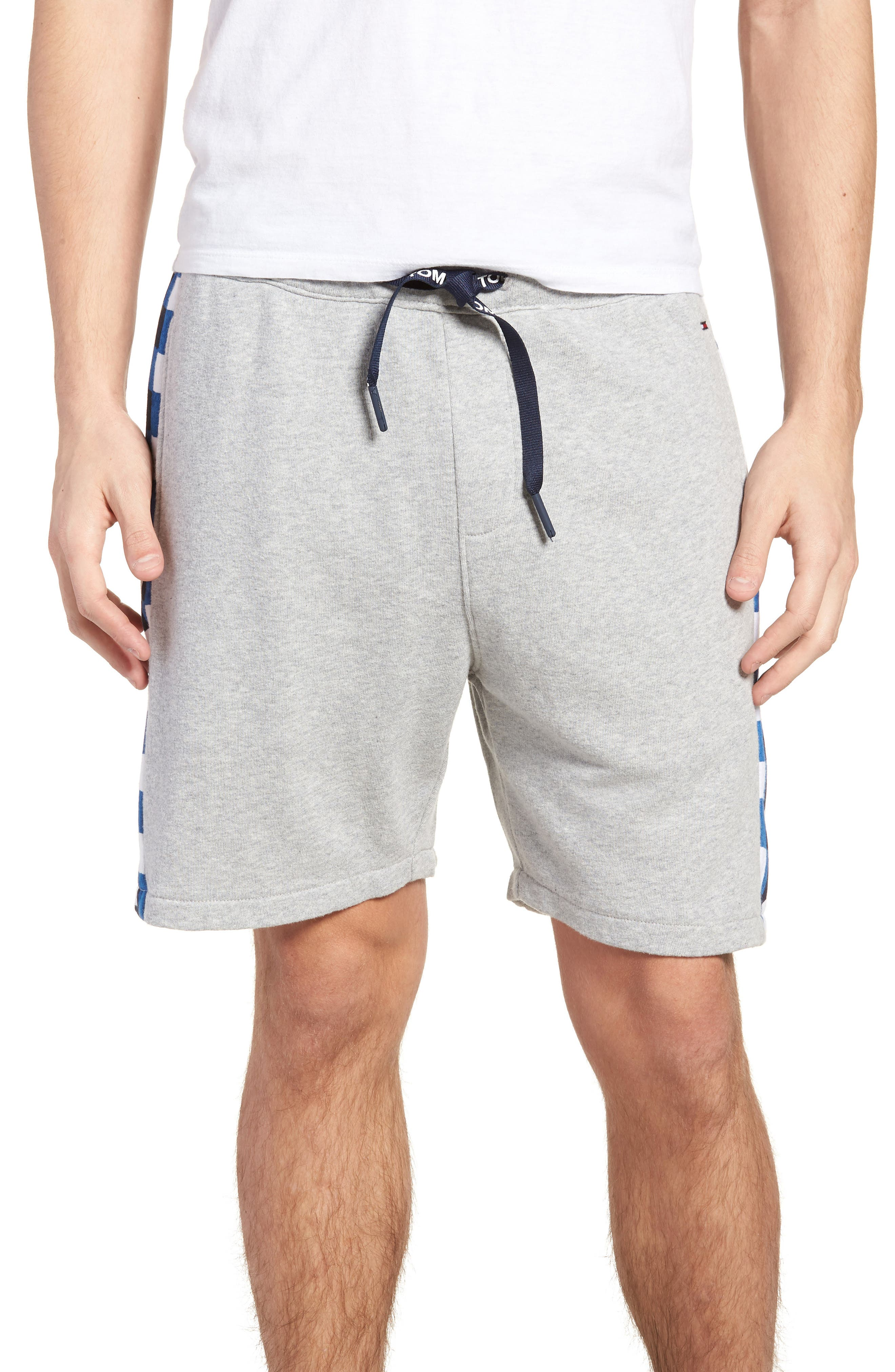 TOMMY JEANS Chequered Knit Beach Shorts