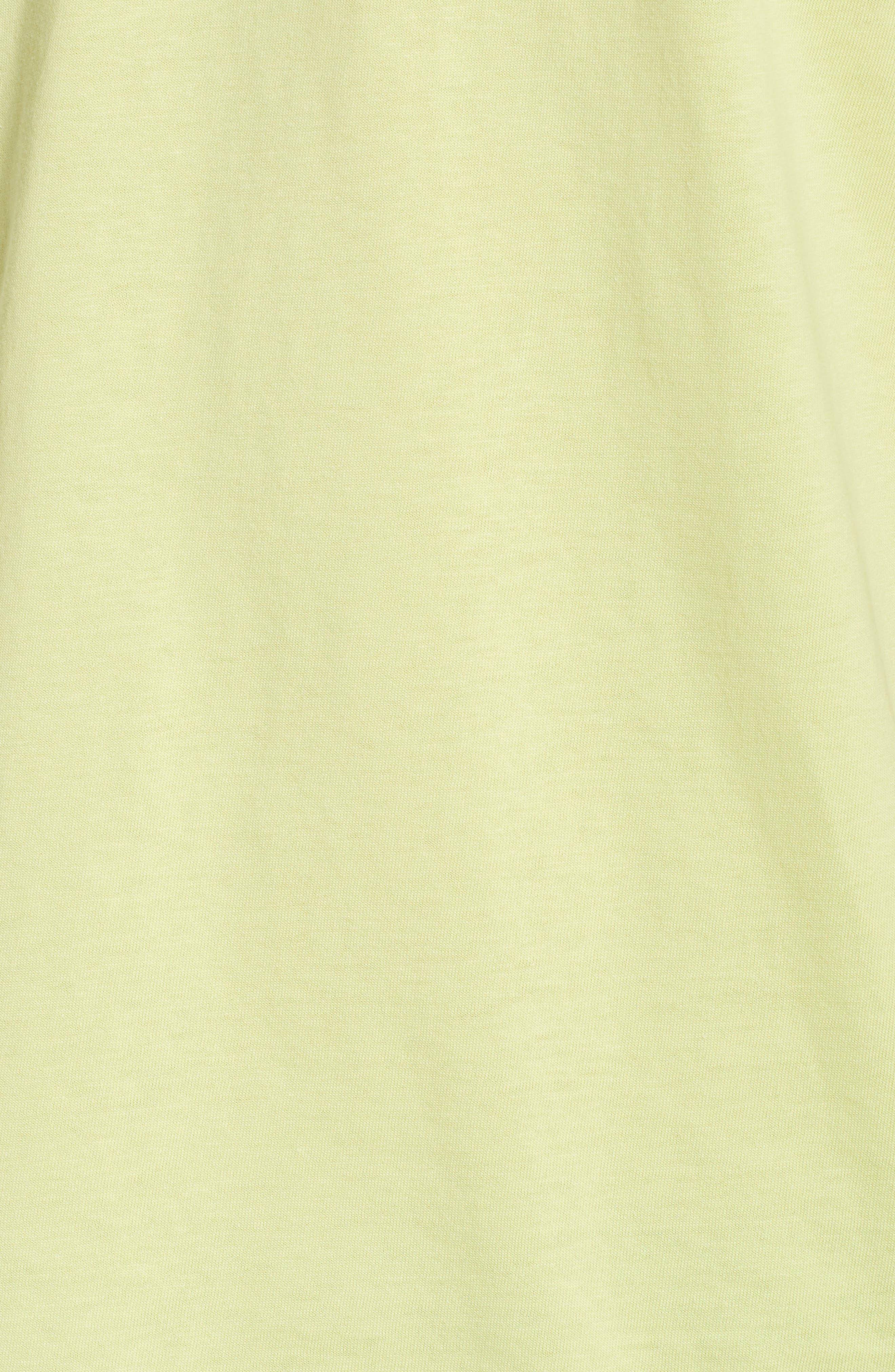 Digital Poison Graphic T-Shirt,                             Alternate thumbnail 5, color,                             Lime