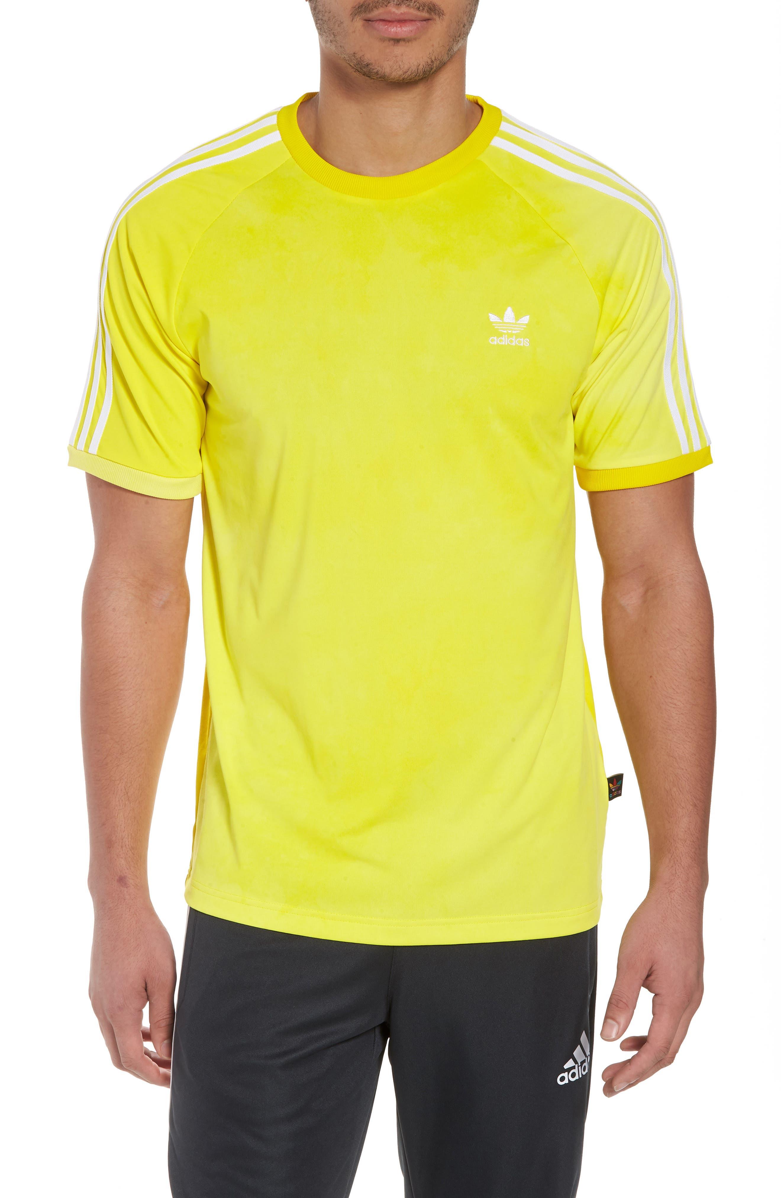 adidas Original Hu Holi T-Shirt,                             Main thumbnail 1, color,                             Yellow