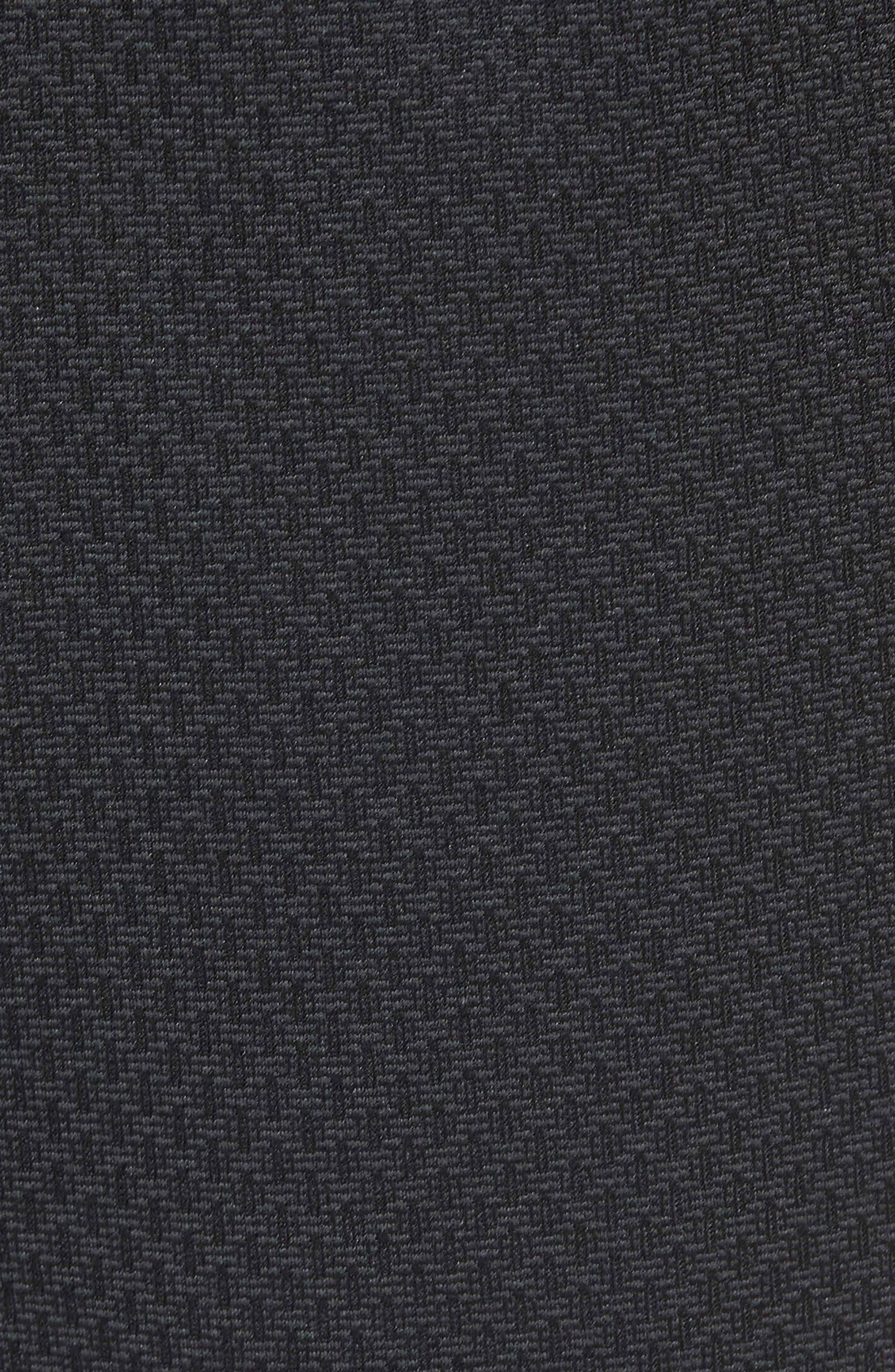 Tencity Knit Shorts,                             Alternate thumbnail 5, color,                             Black