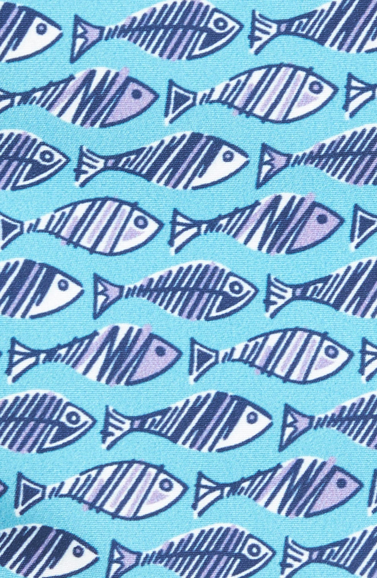 Swim Trunks,                             Alternate thumbnail 5, color,                             Turquoise