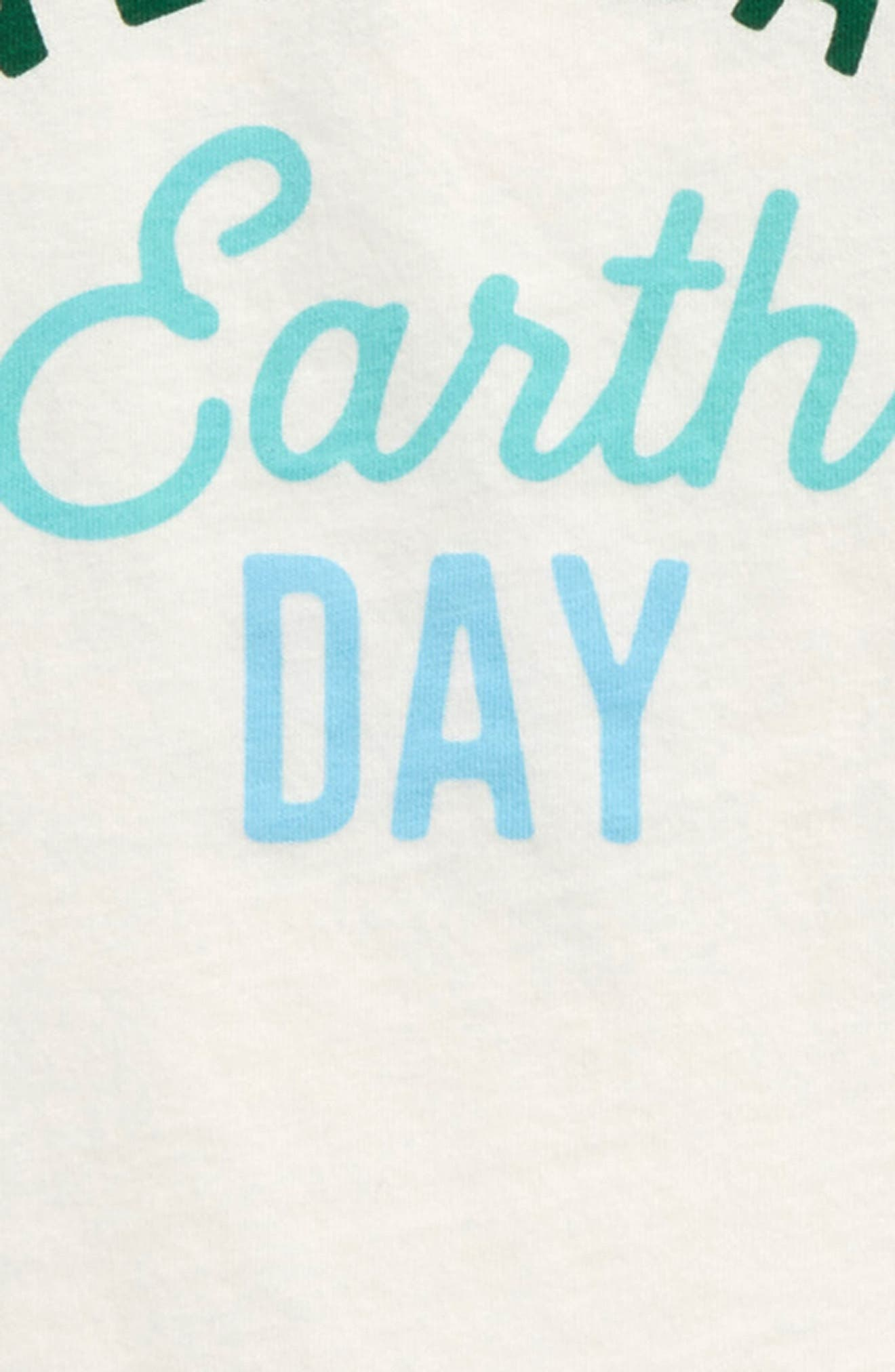 Alternate Image 2  - Peek Earth Day Graphic Tee (Baby)