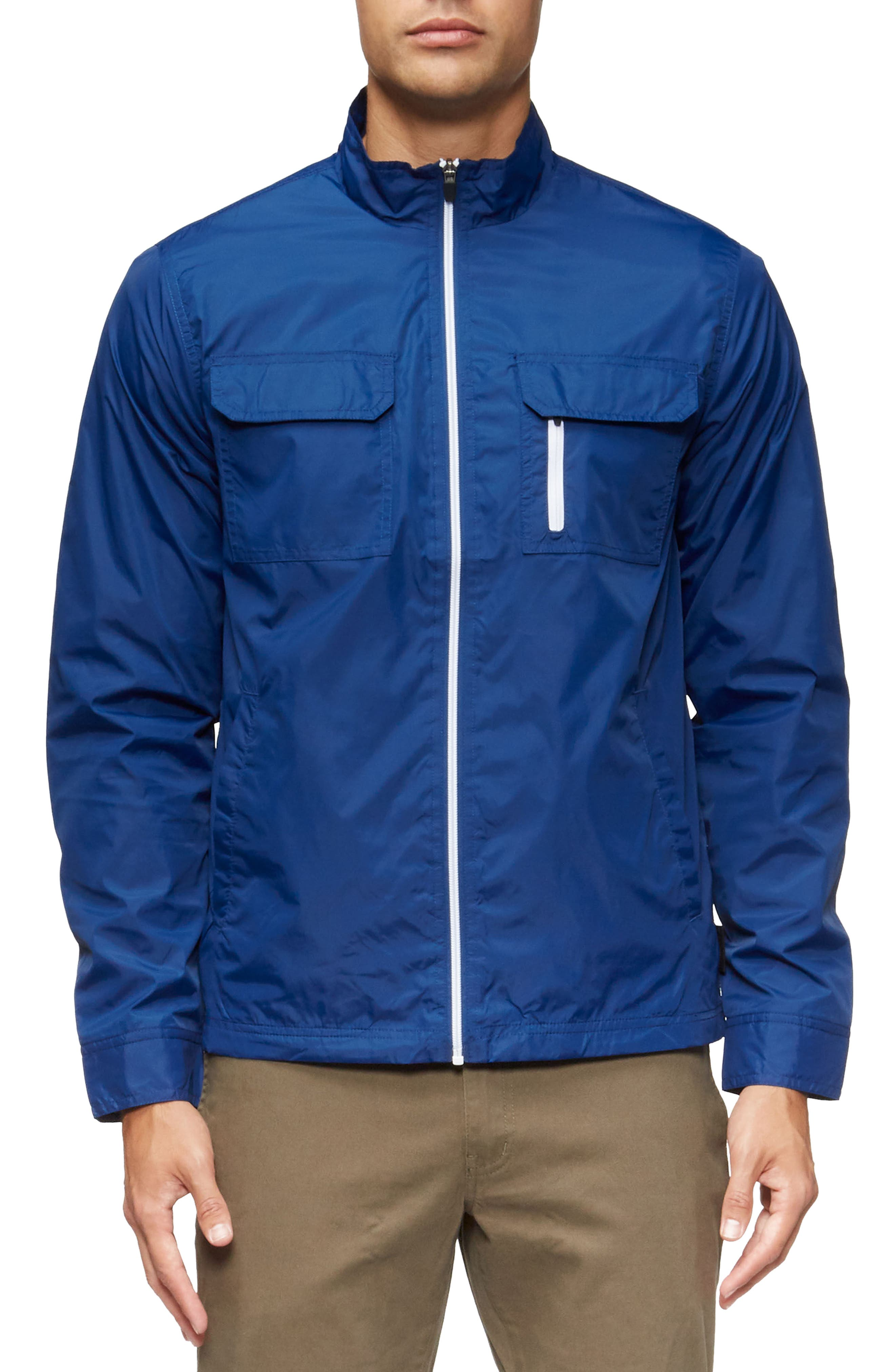 Staple Jacket,                         Main,                         color, Ink Blue