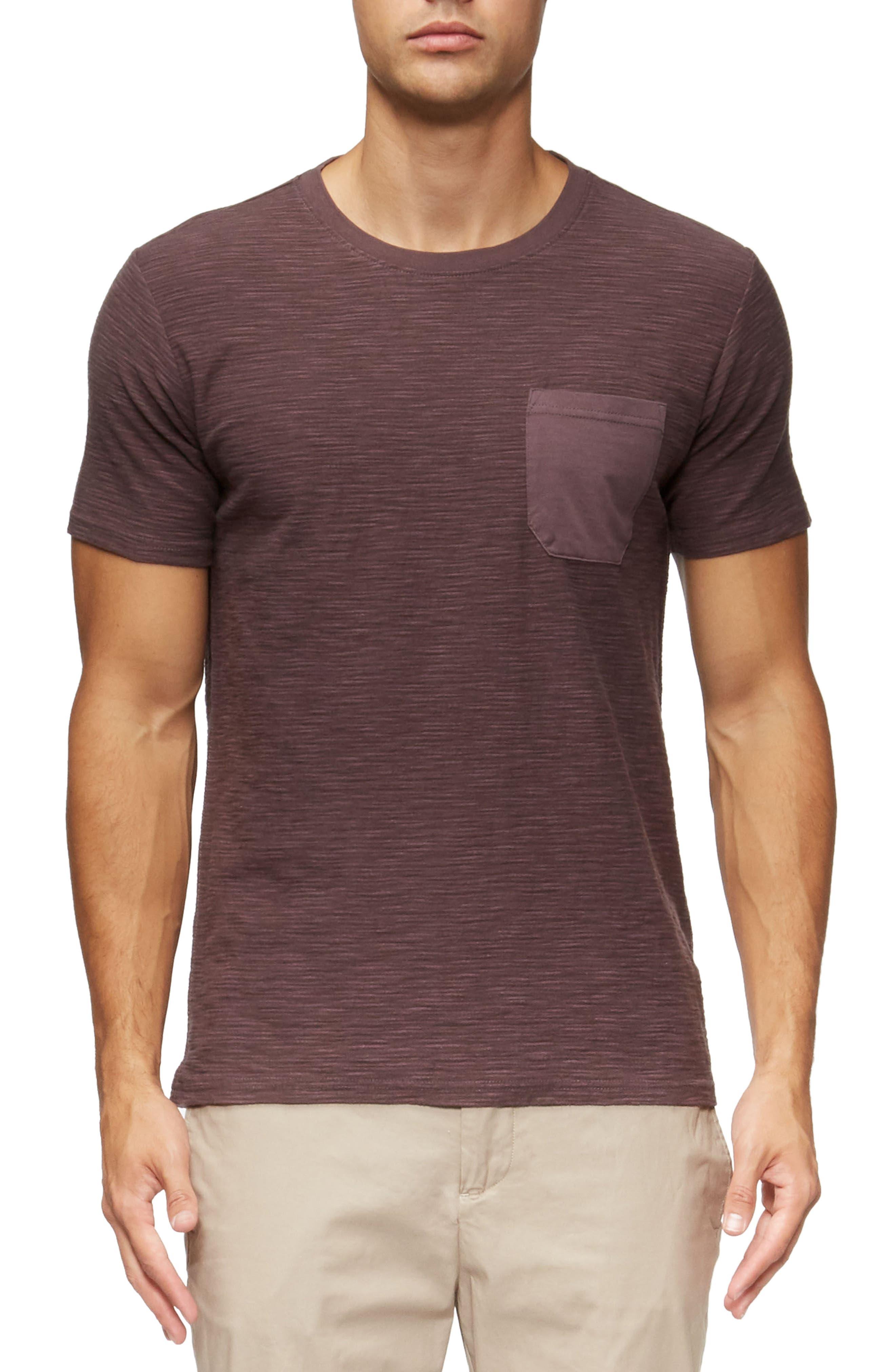 Alternate Image 1 Selected - TAVIK Redondo Stripe Pocket T-Shirt