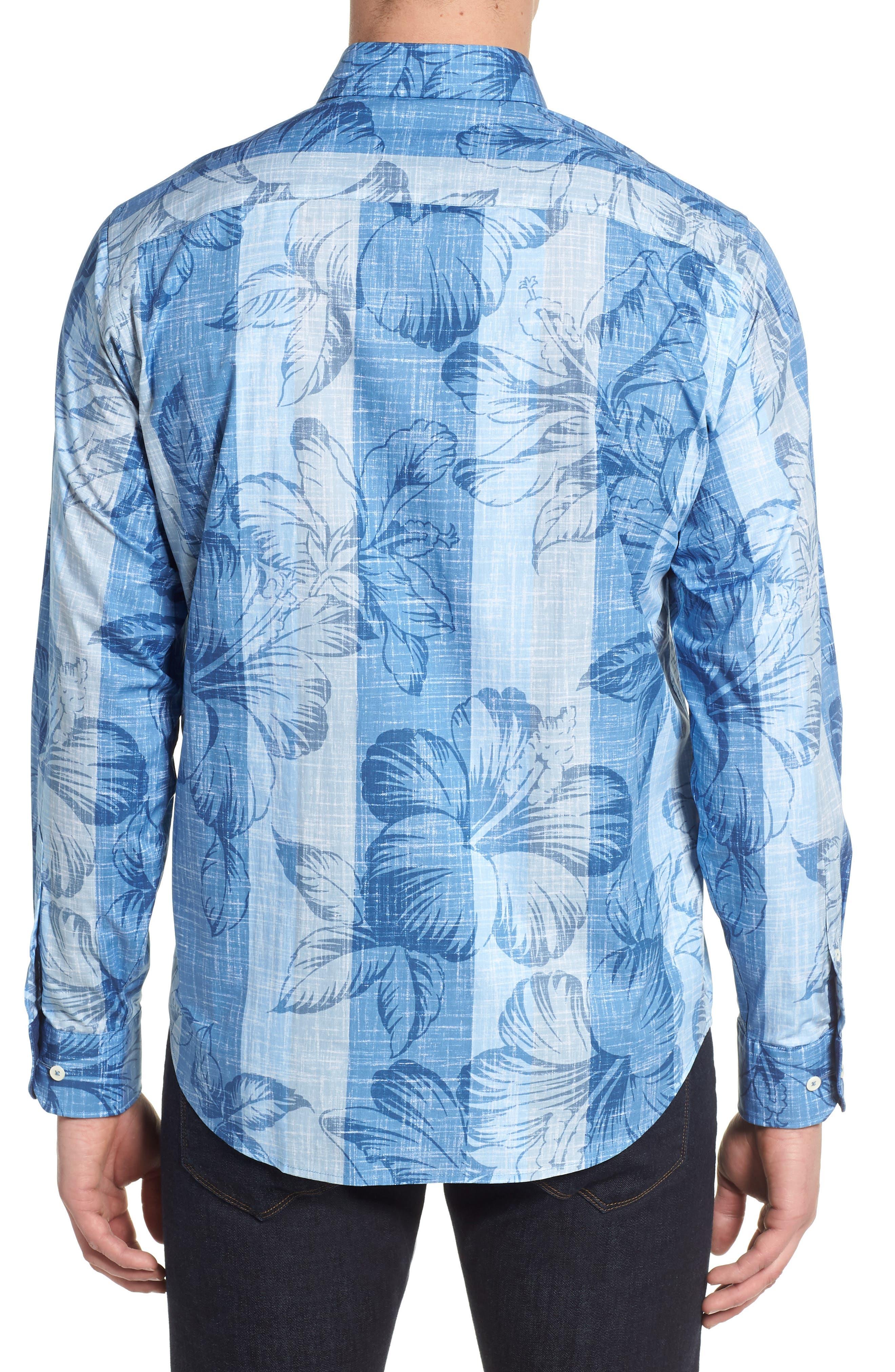 Sport Shirt,                             Alternate thumbnail 2, color,                             Air Blue