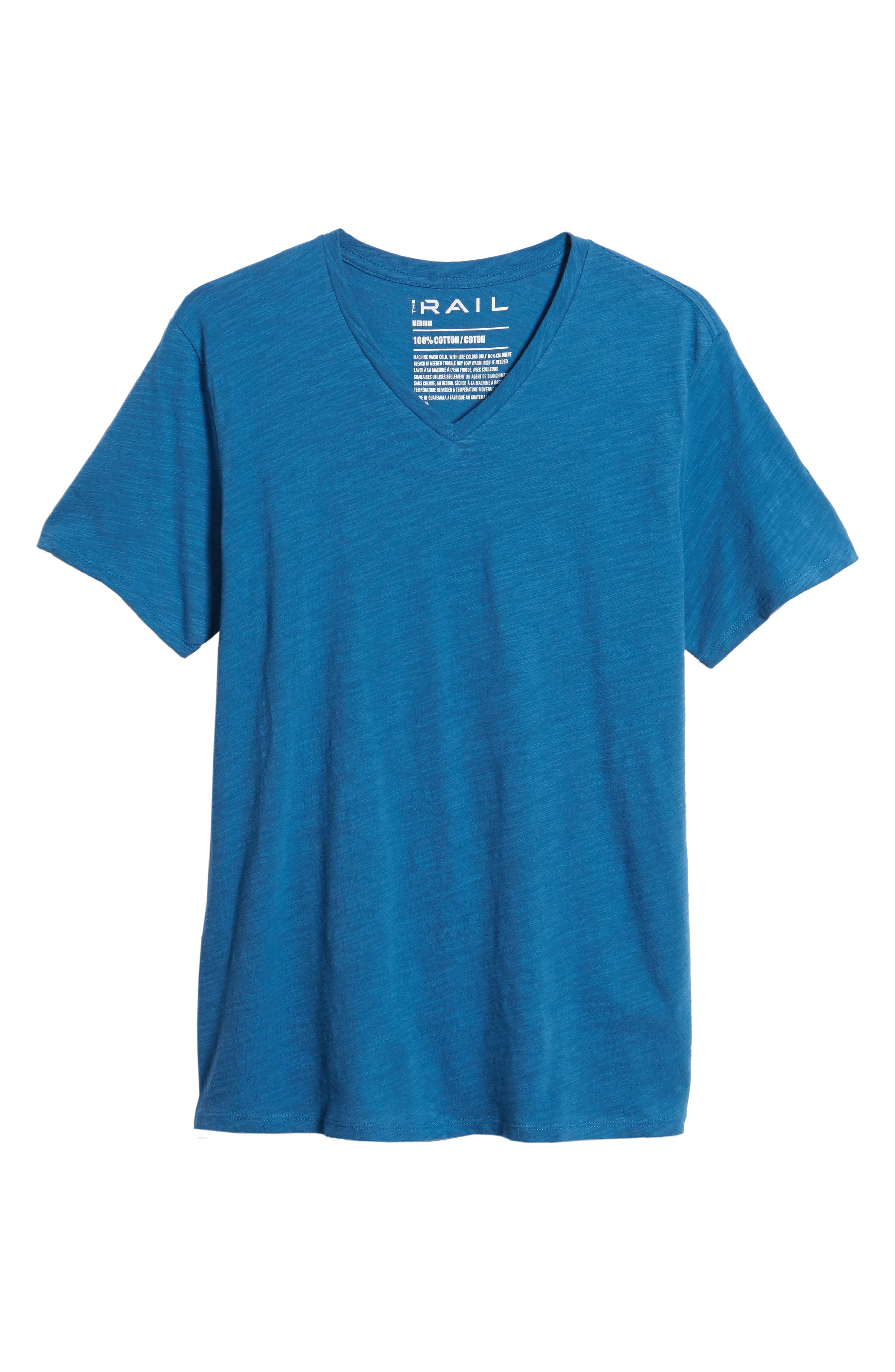 Main Image - The Rail Slub Cotton V-Neck T-Shirt (2 for $30)