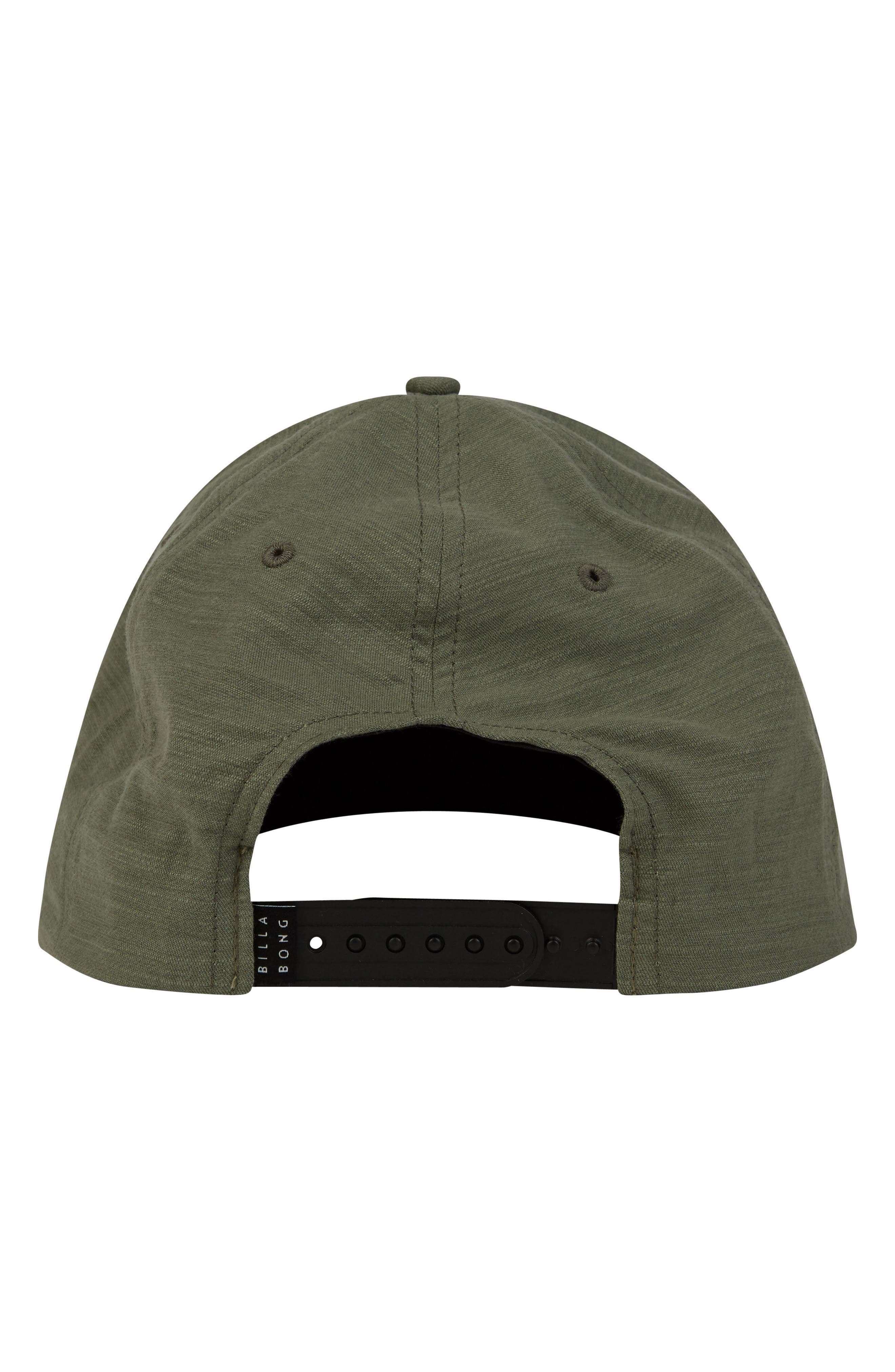 All Day Snapback Cap,                             Alternate thumbnail 2, color,                             Green Heather