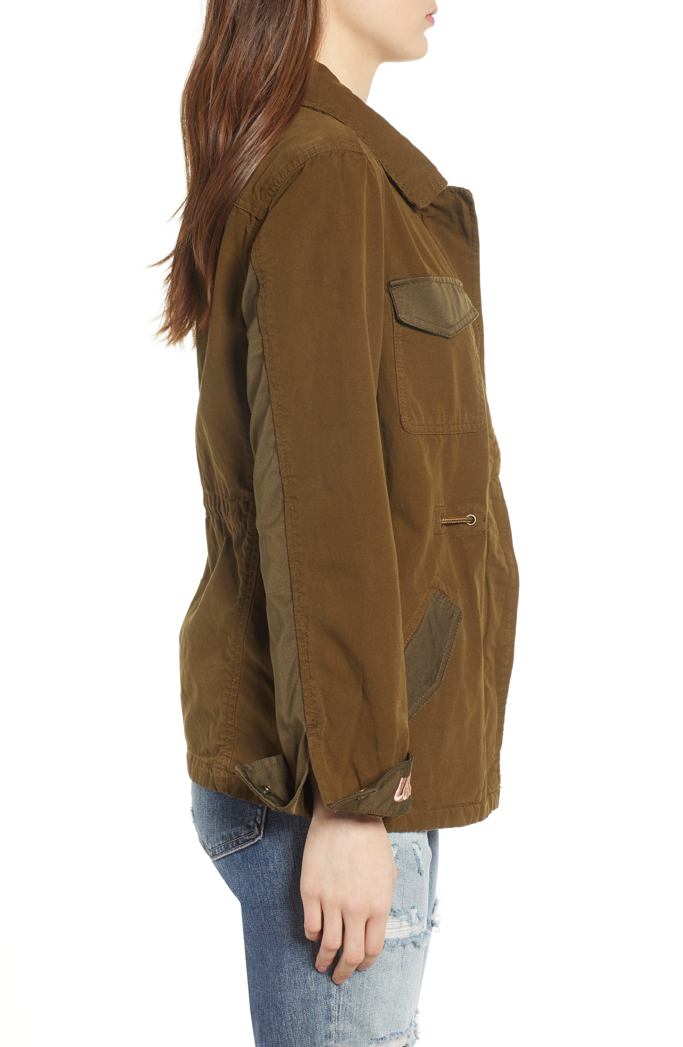 Safari Jacket,                             Alternate thumbnail 3, color,                             Color 15 Army