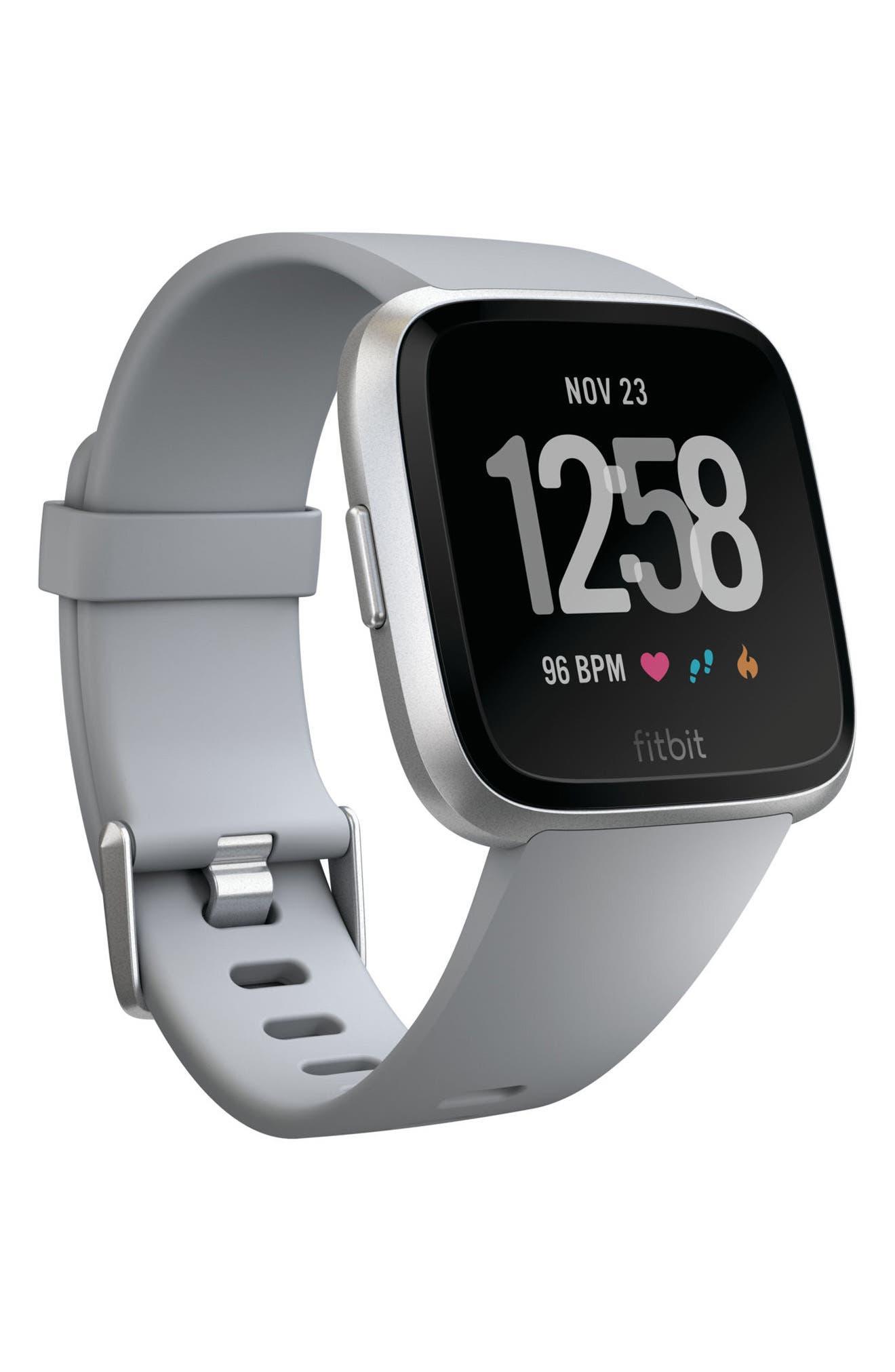 FITBIT Versa Smart Watch in Gray / Silver