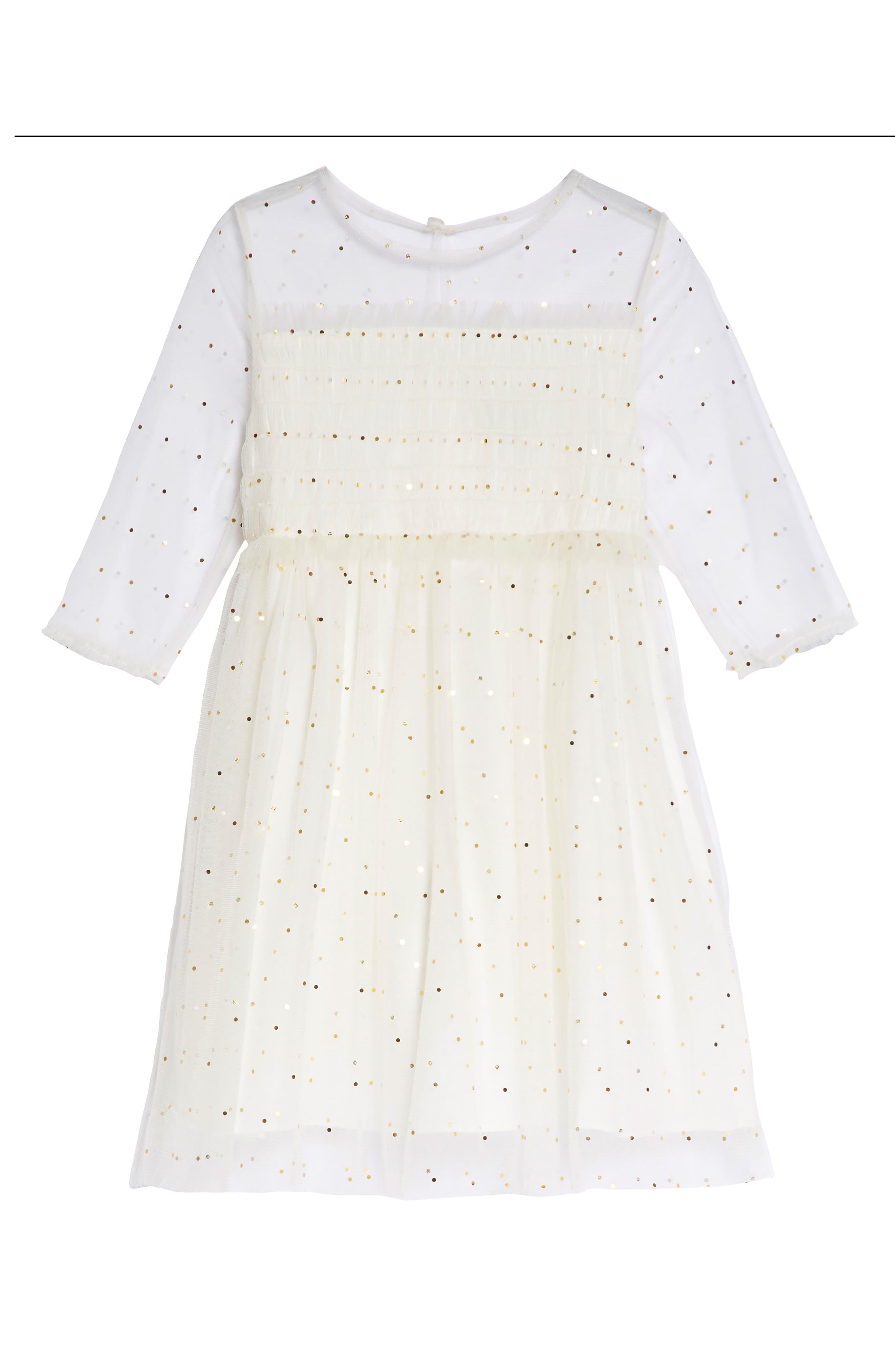 Laura Dress,                             Main thumbnail 1, color,                             Cream