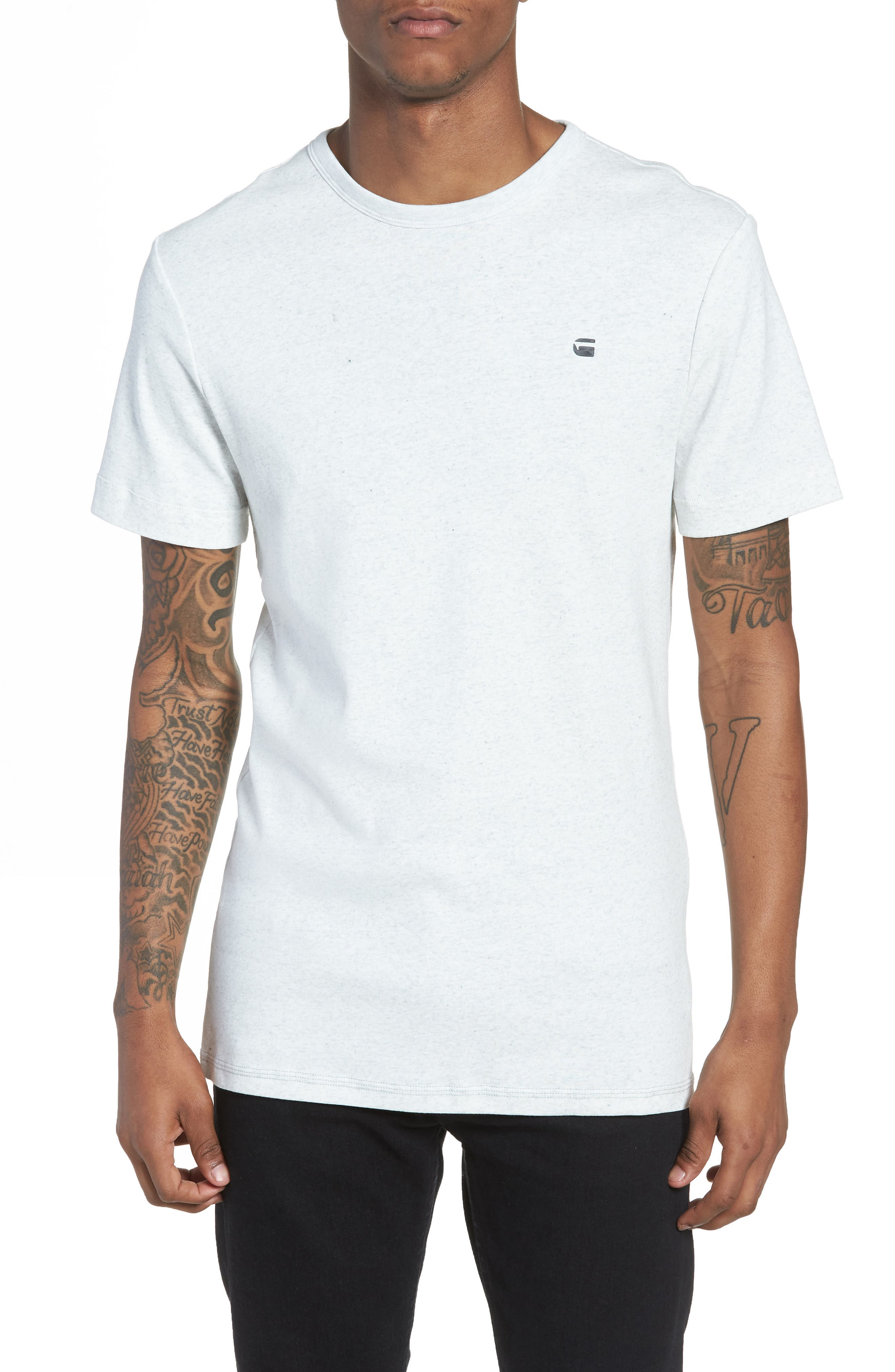 Correct Unstand T-Shirt,                         Main,                         color, White Heather