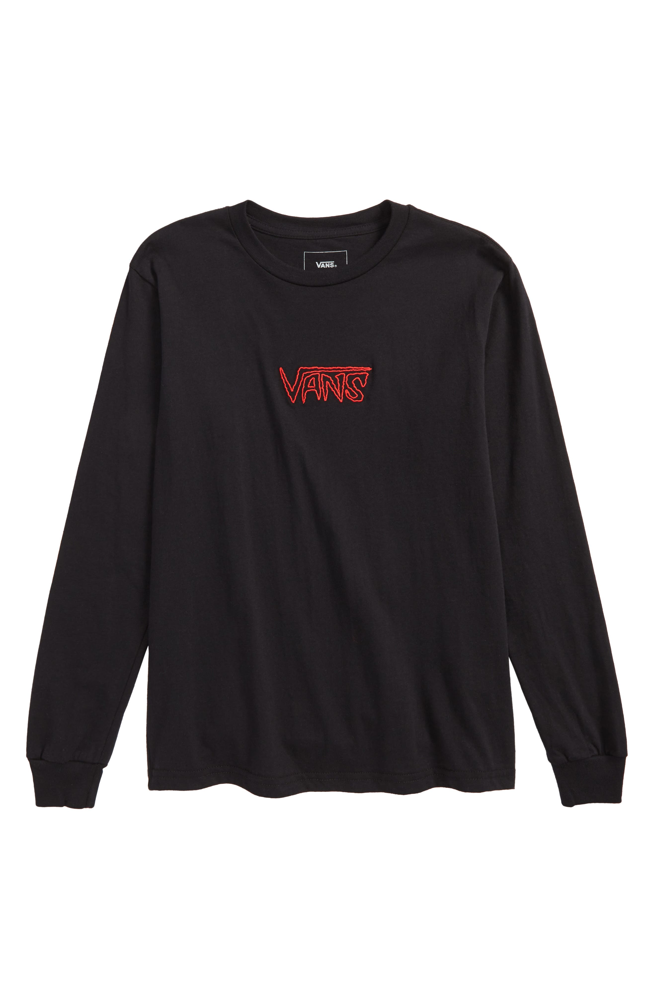Sketch Tape Logo T-Shirt,                         Main,                         color, Black