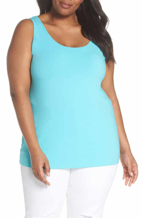 NIC+ZOE Perfect Scoop Tank (Plus Size)