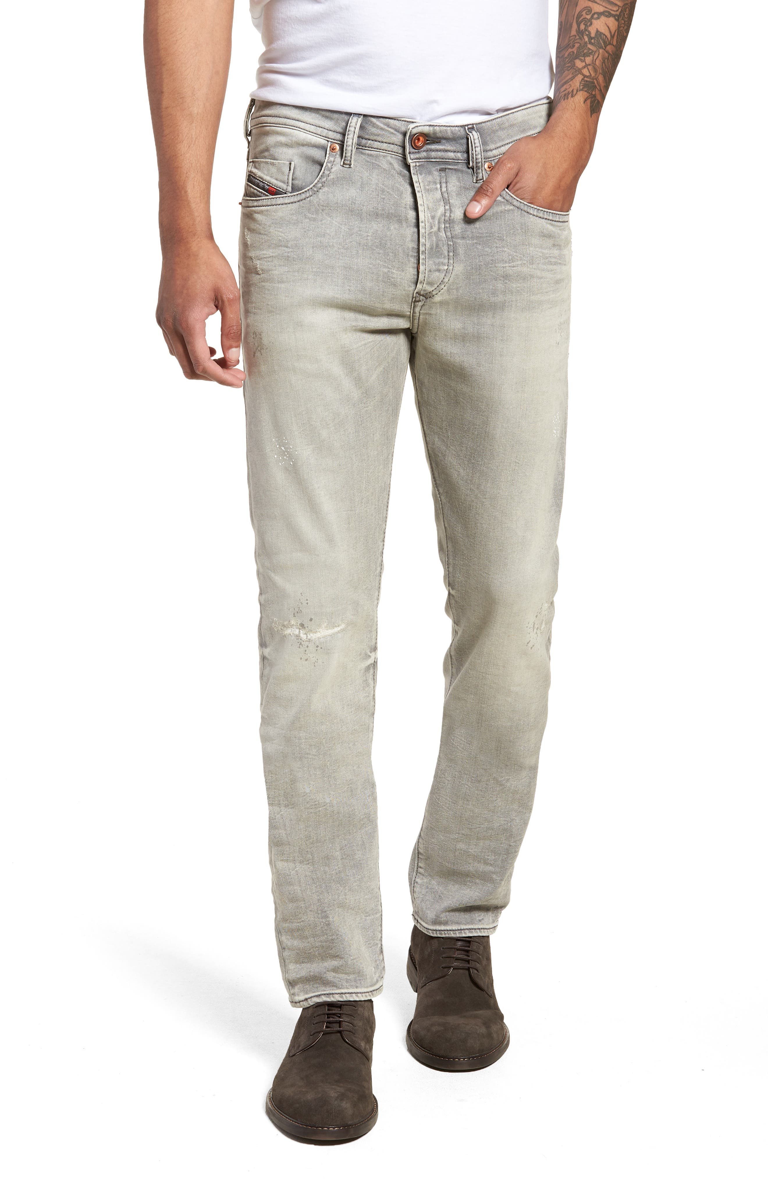Buster Slim Straight Leg Jeans,                         Main,                         color, 0699J