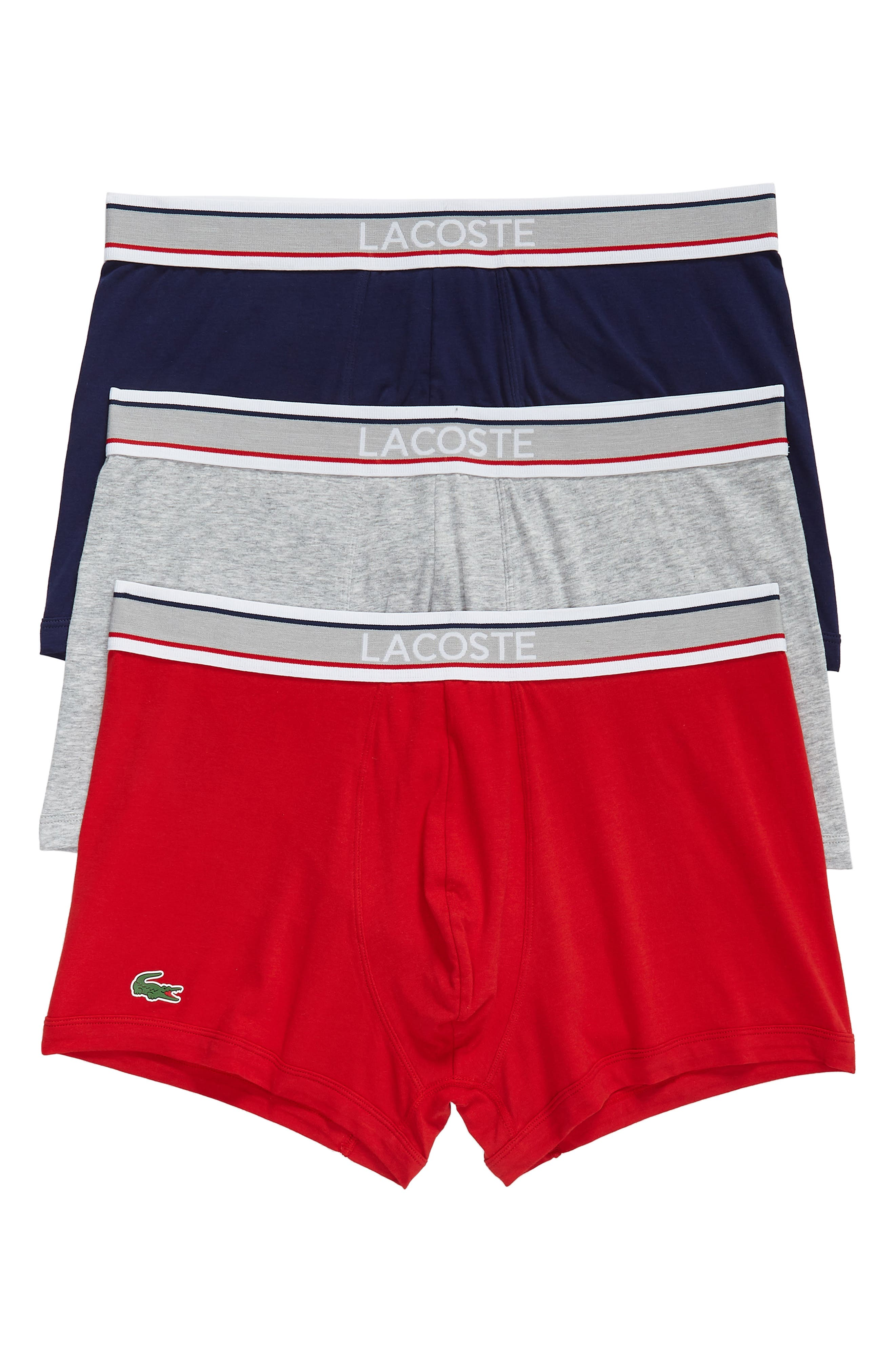 3-Pack Trunks,                         Main,                         color, Blue/ Grey/ Cherry