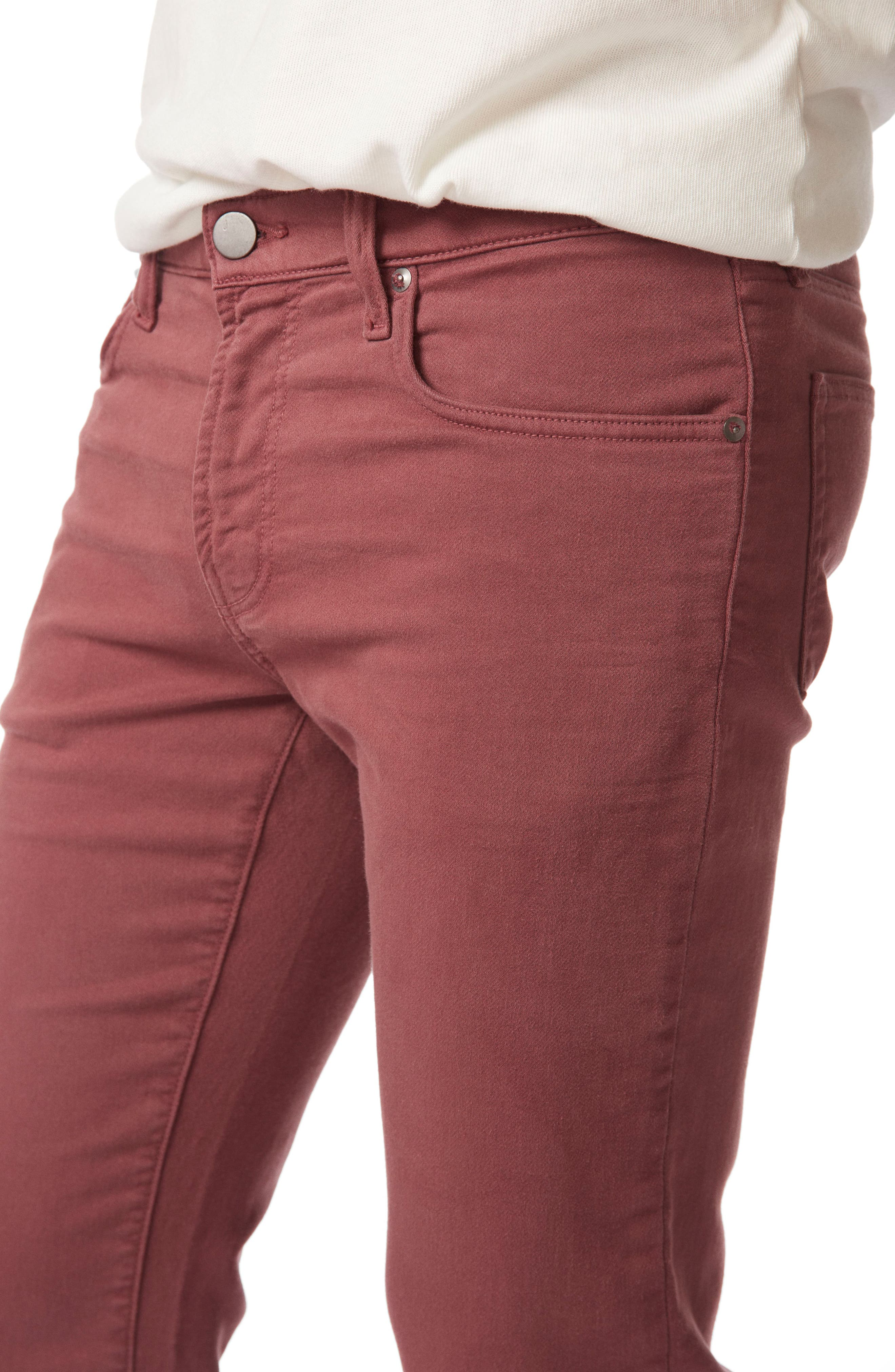 Kane Slim Straight Leg Pants,                             Alternate thumbnail 4, color,                             Keckley Basella