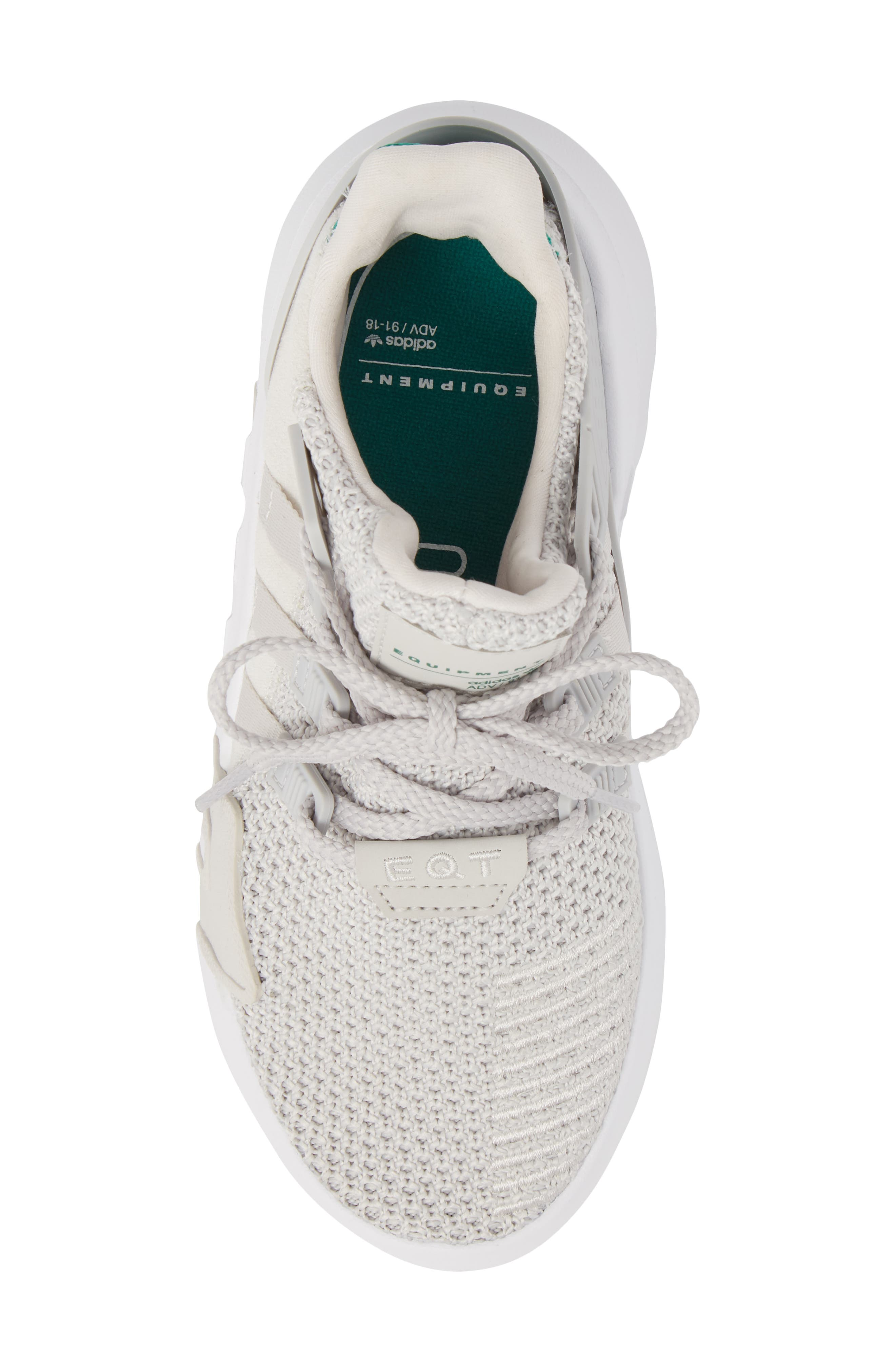 EQT Basketball ADV I Sneaker,                             Alternate thumbnail 5, color,                             Grey / Grey / Green