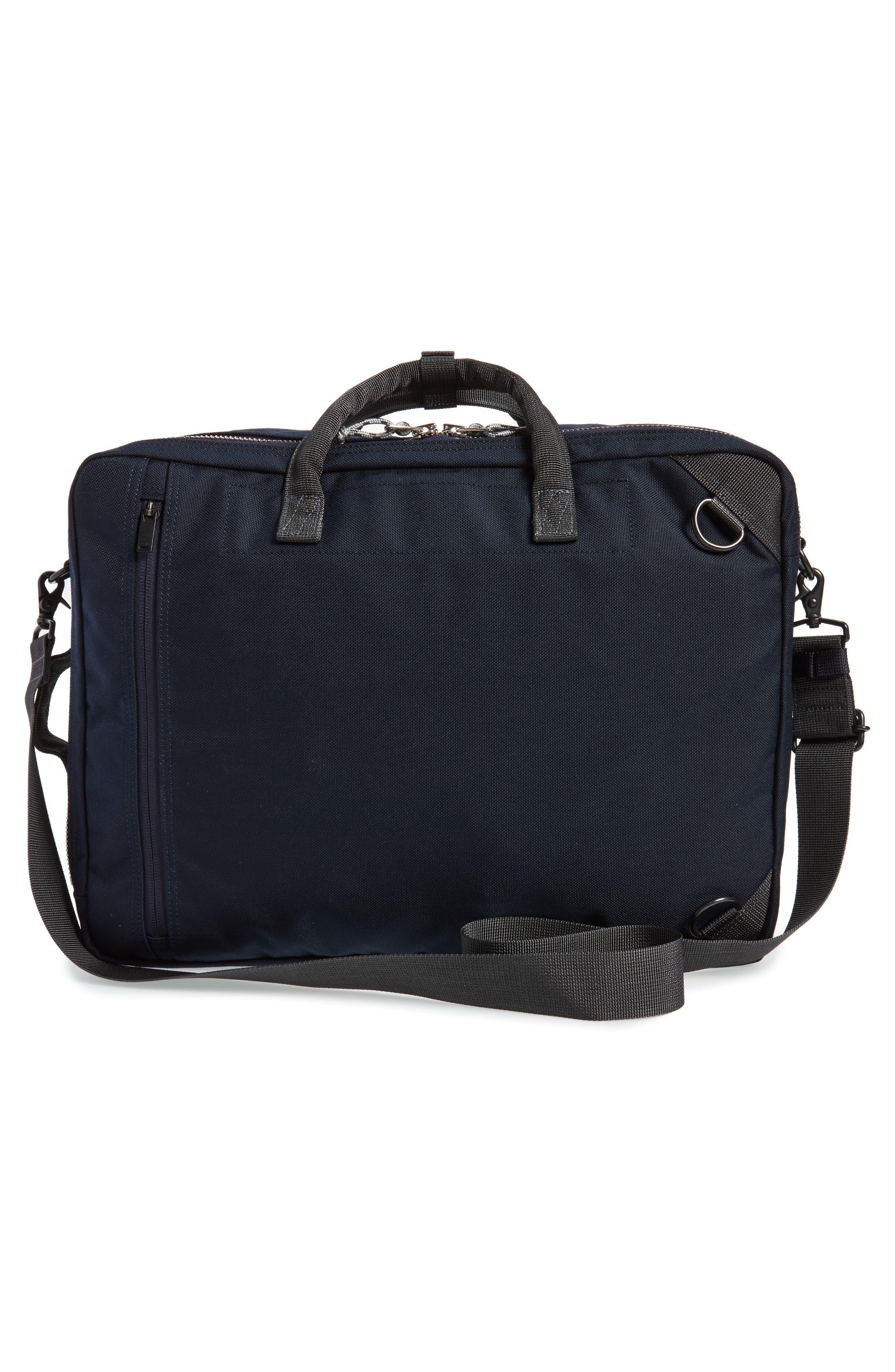 Porter-Yoshida & Co. Hype Convertible Briefcase,                             Alternate thumbnail 3, color,                             Navy/ Black