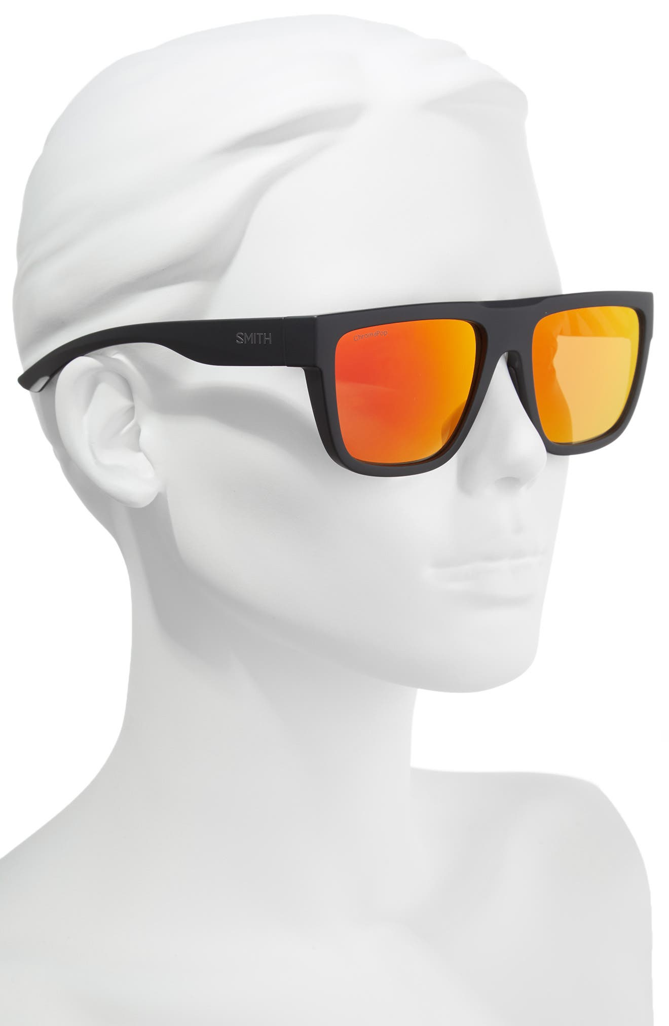 The Comeback 58mm ChromaPop<sup>™</sup> Square Sunglasses,                             Alternate thumbnail 2, color,                             Squall