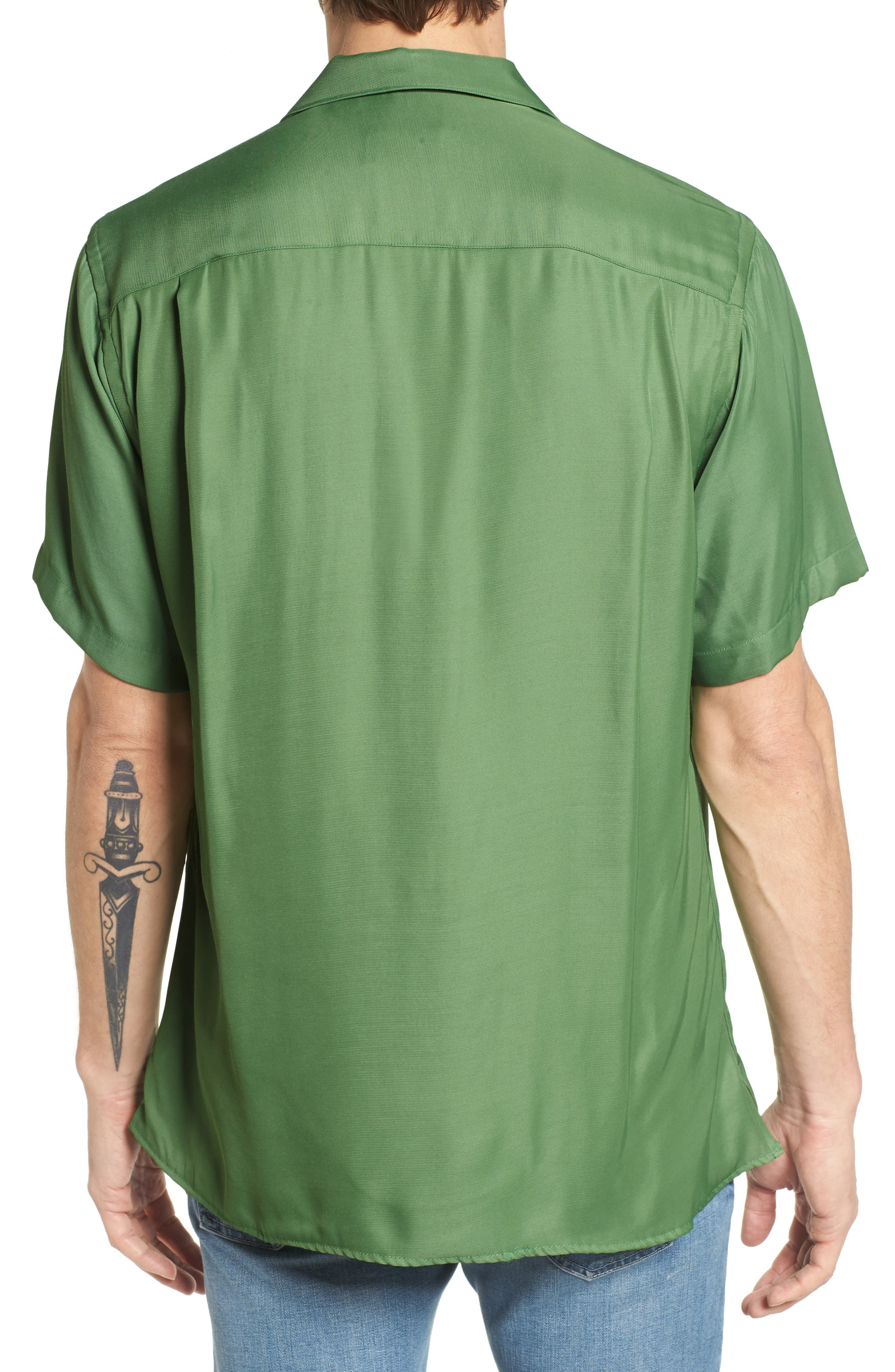 Alternate Image 2  - Gitman Camp Shirt