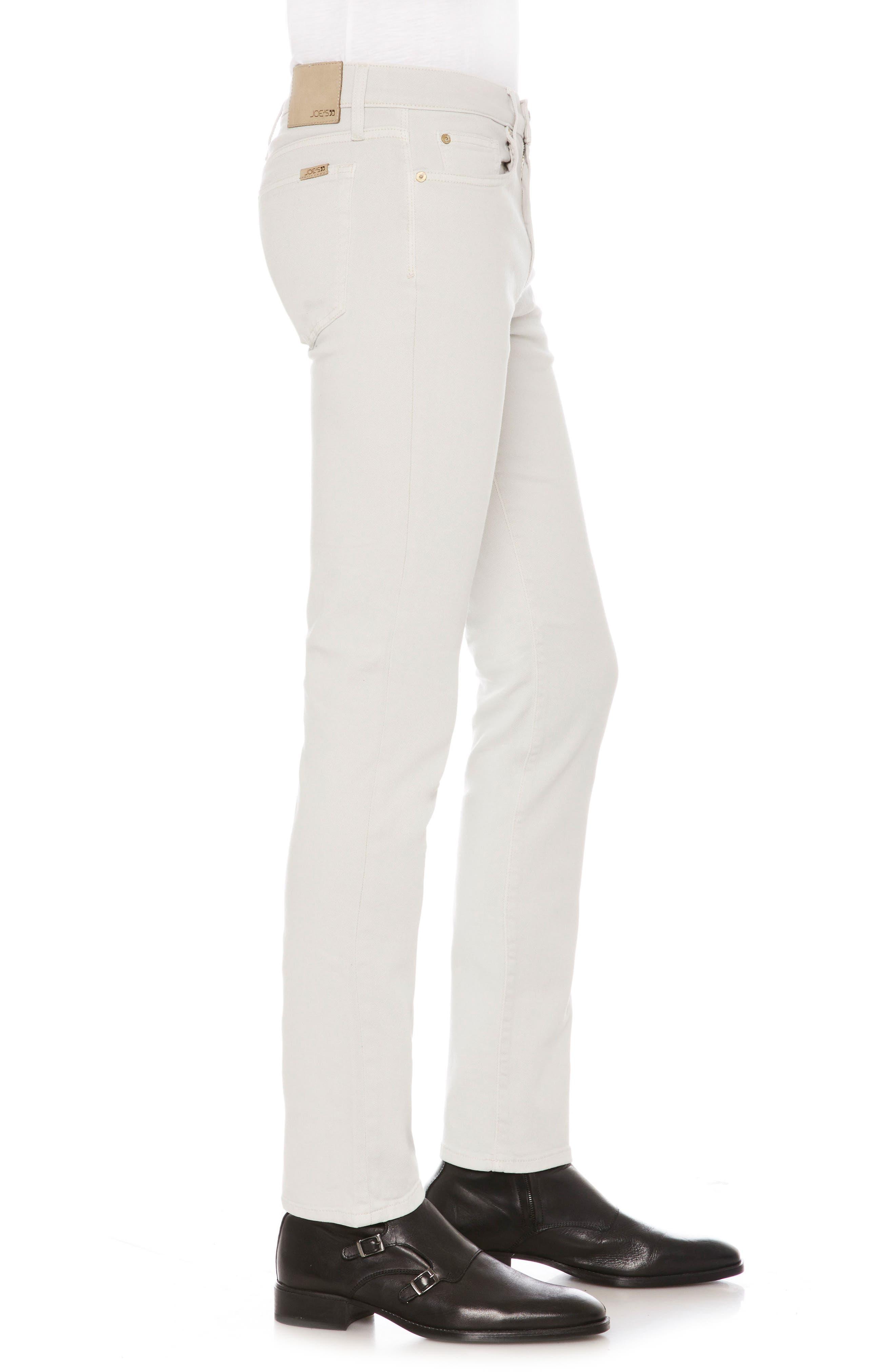 Brixton Slim Straight Leg Jeans,                             Alternate thumbnail 3, color,                             Mancini