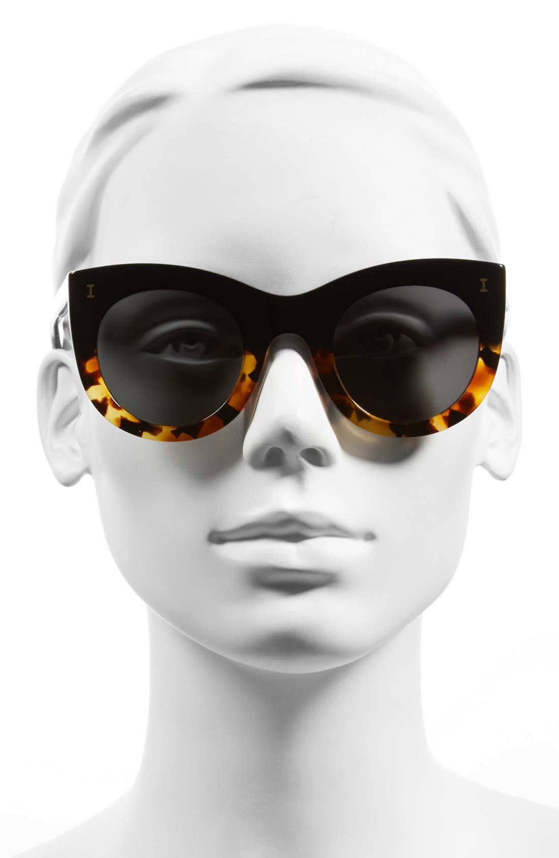Alternate Image 2  - Illesteva 'Boca' 47mm Round Sunglasses