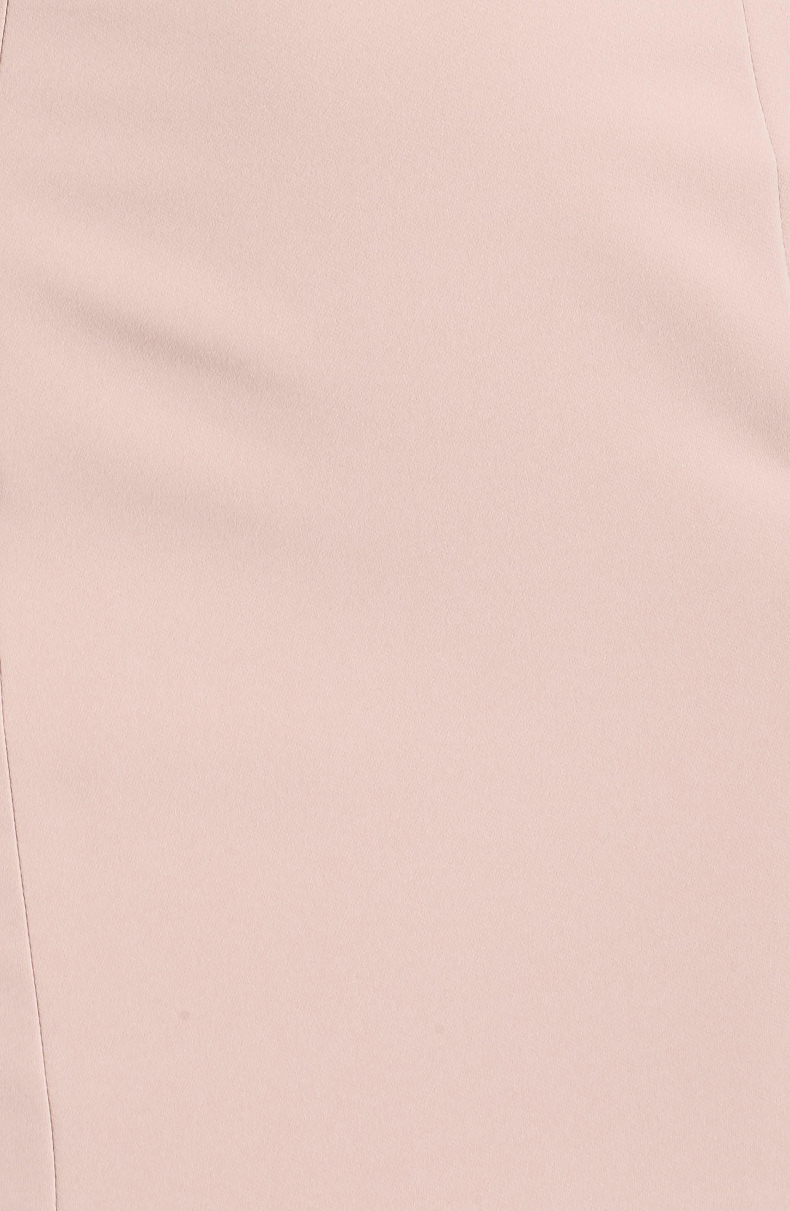 Milly Lace Flounce Slipdress,                             Alternate thumbnail 5, color,                             Blush