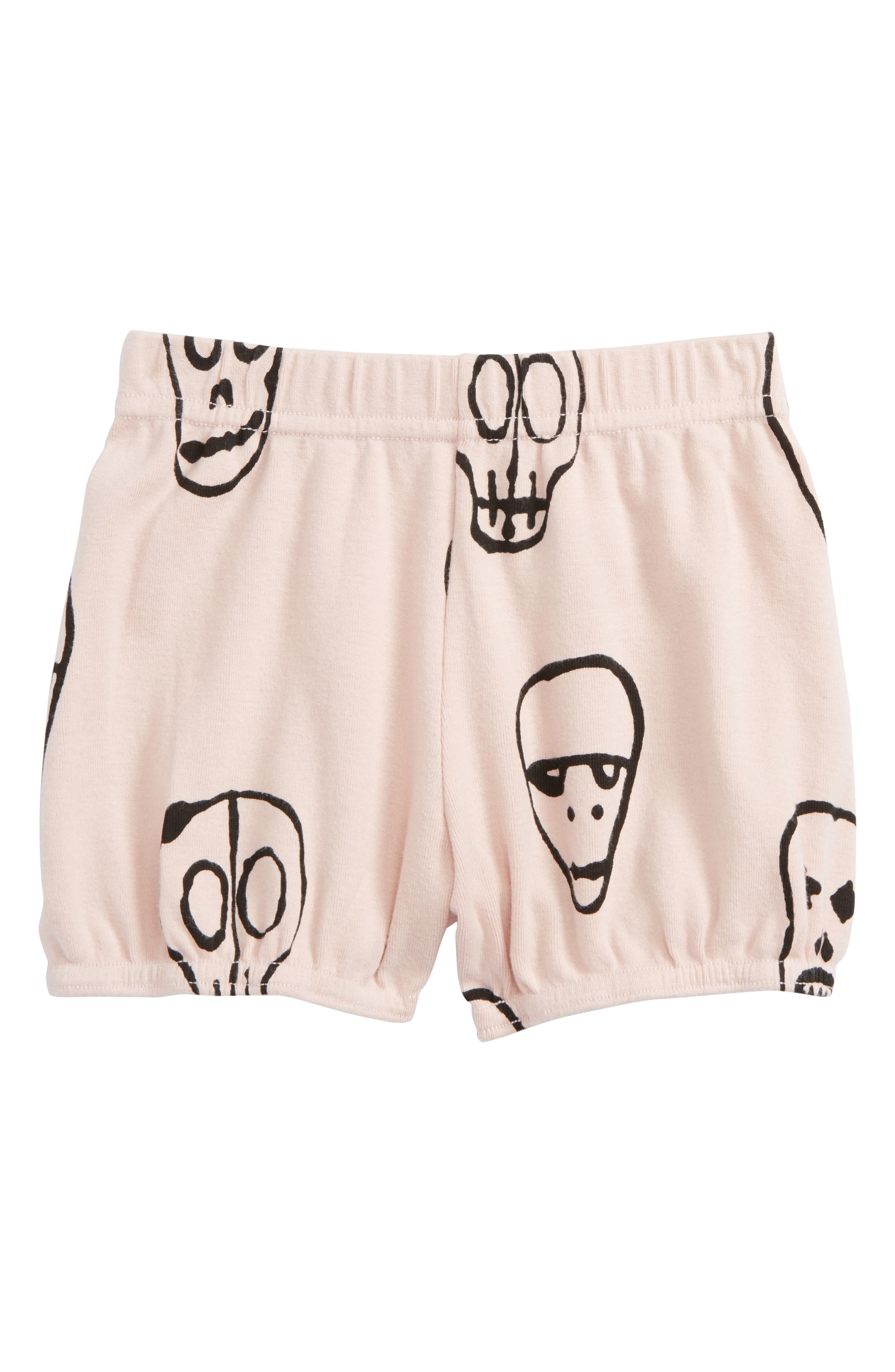 Nununu kull Mask Yoga Shorts (Baby Girls)