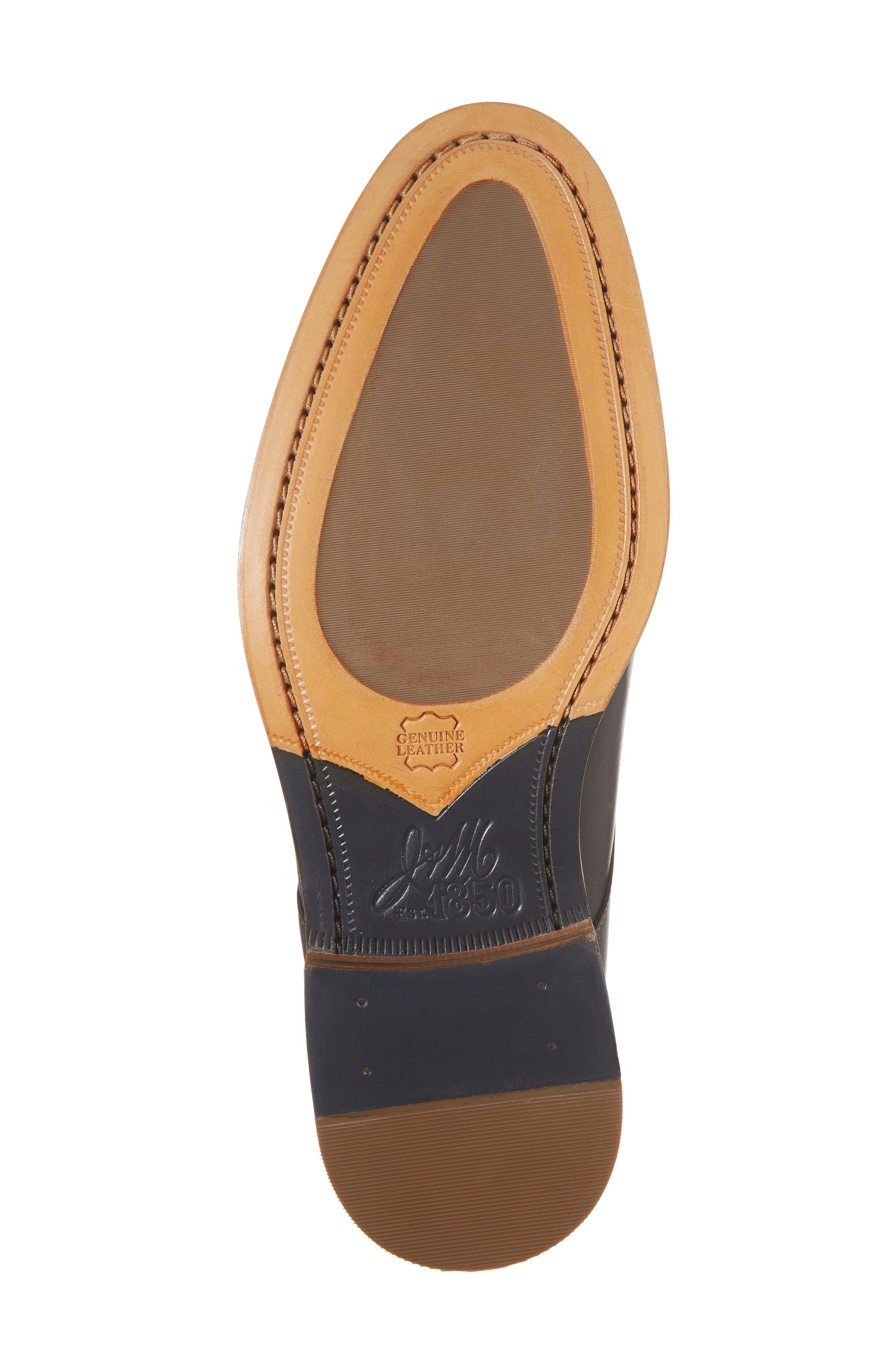 Chambliss Cap Toe Derby,                             Alternate thumbnail 6, color,                             Black Leather