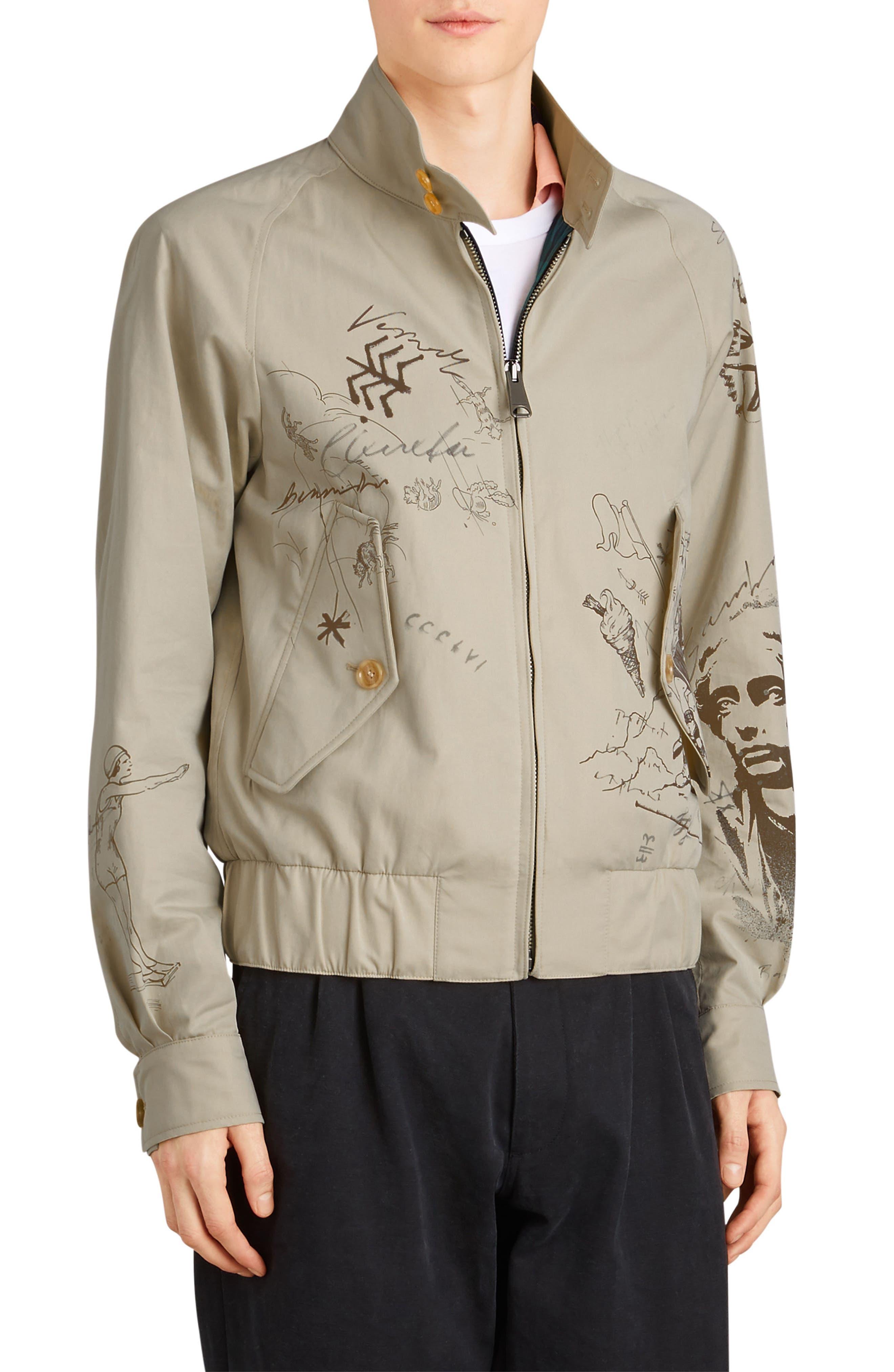 Rocksmoor Harrington Jacket,                         Main,                         color, Stone