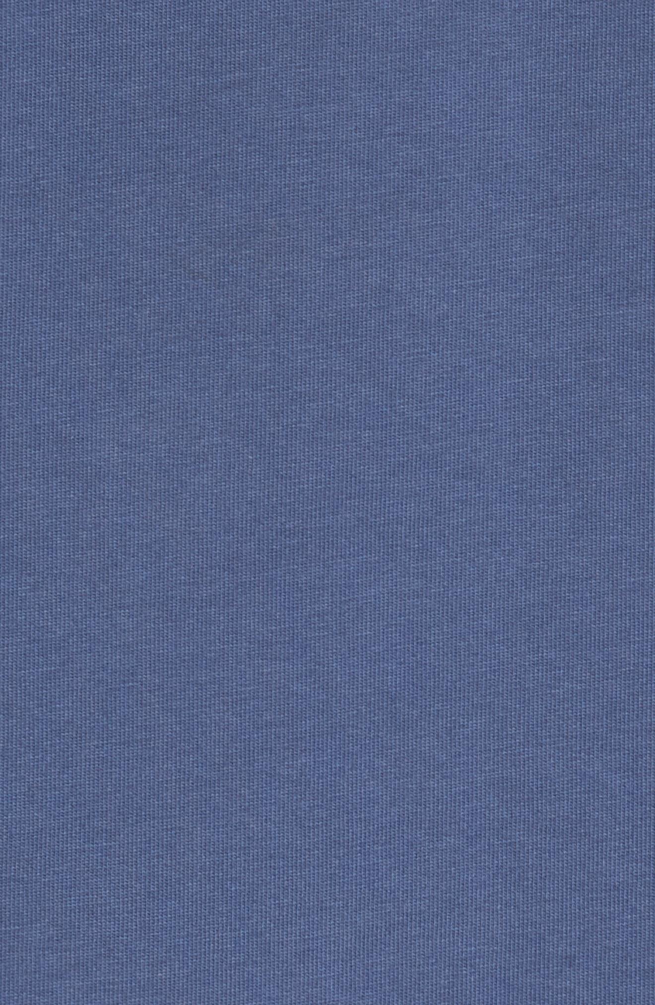 Mahi Long Sleeve T-Shirt,                             Alternate thumbnail 5, color,                             Moonshine