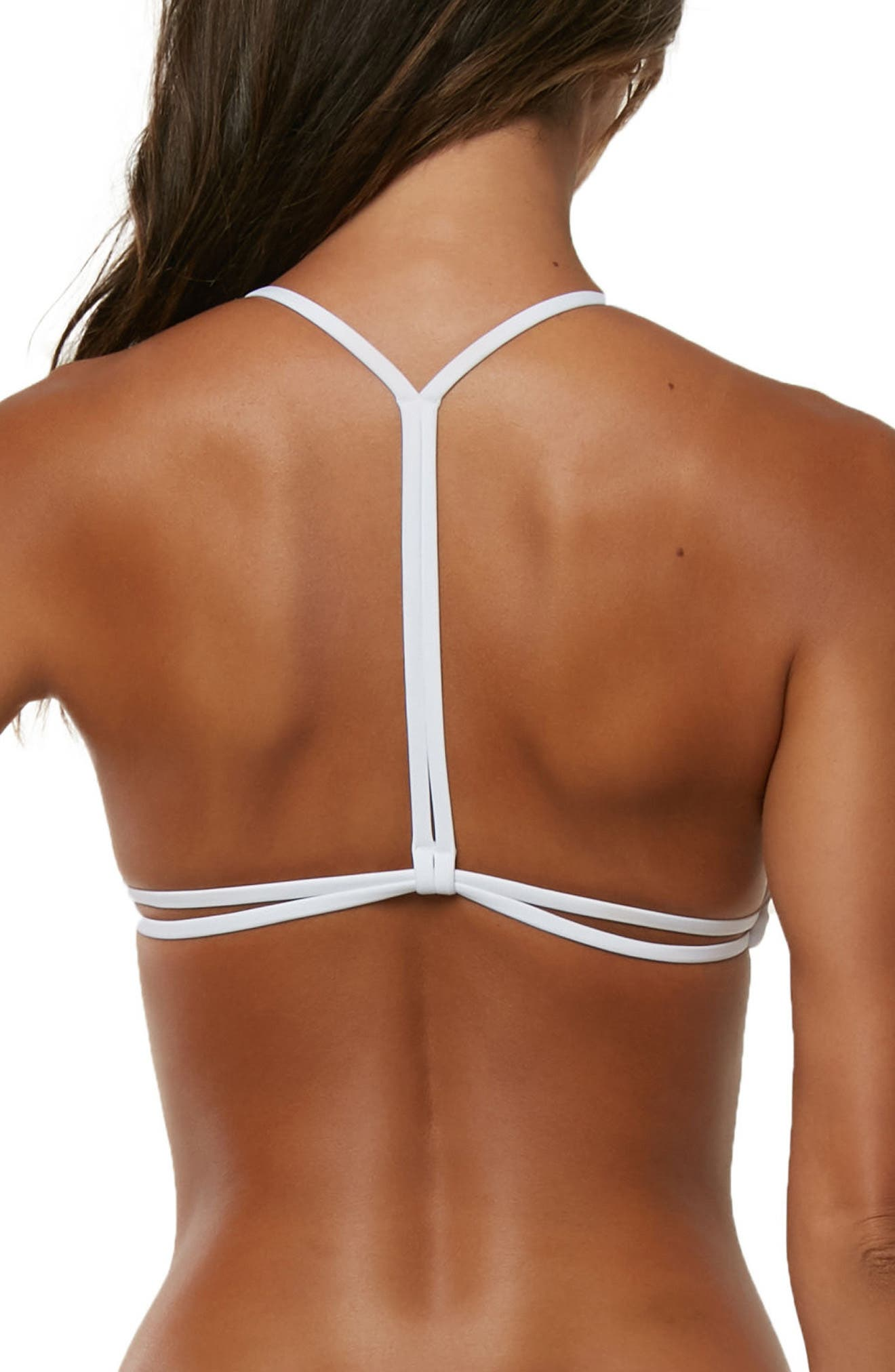 Summer Lovin' Bikini Top,                             Alternate thumbnail 2, color,                             White