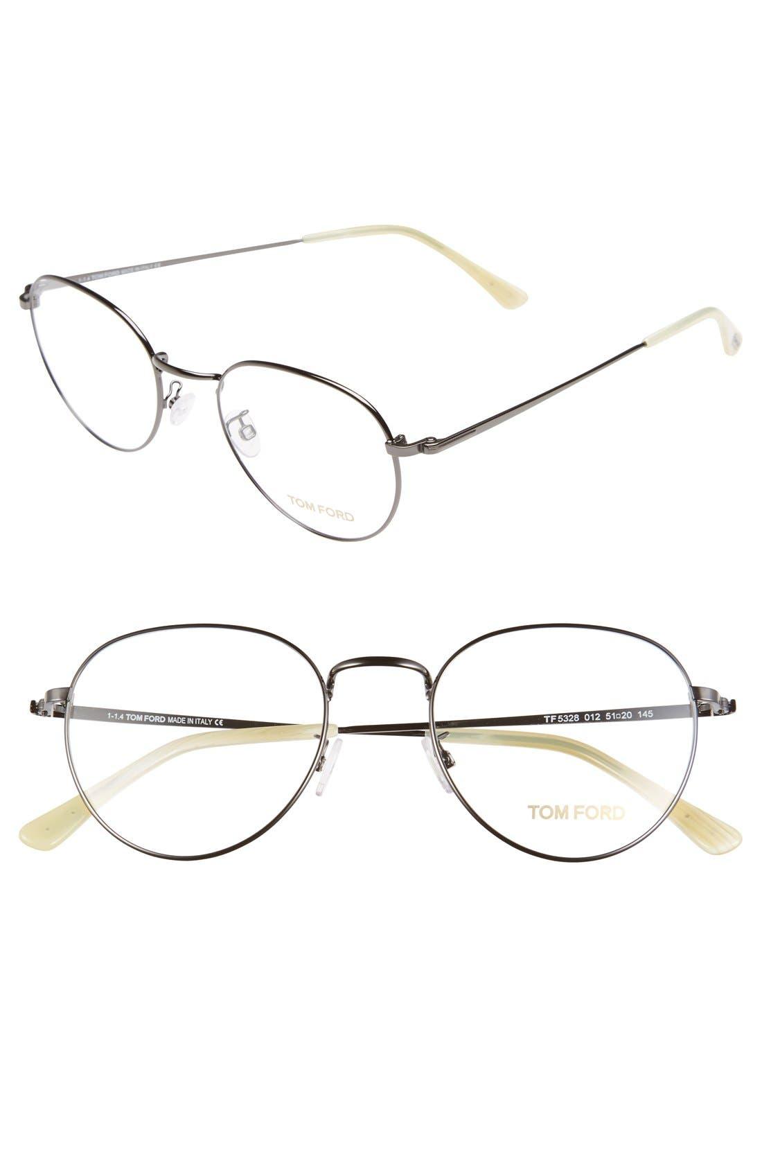 Main Image - Tom Ford 51mm Optical Glasses