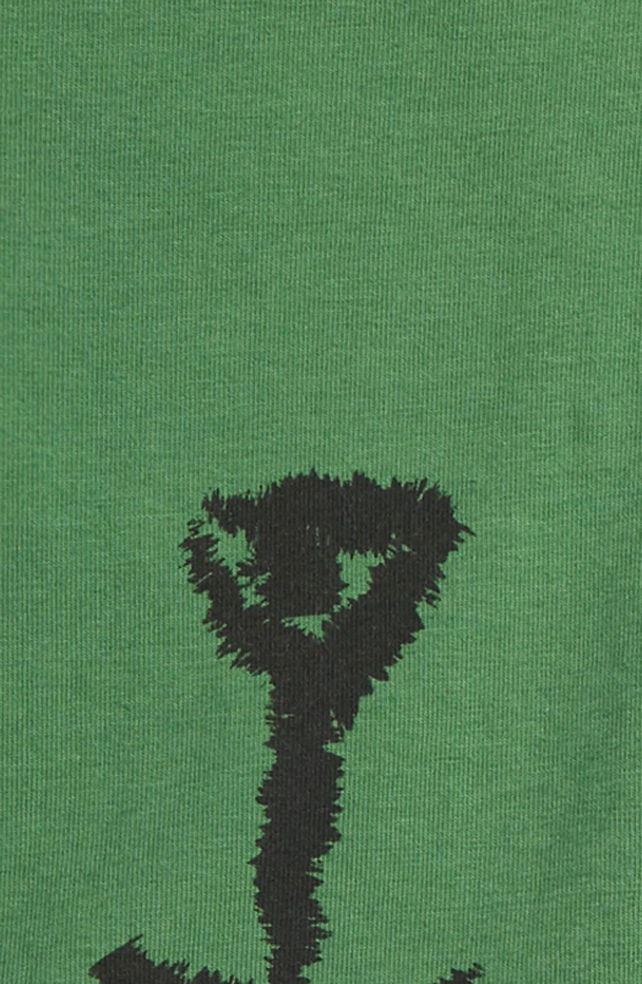 Honeybear Bodysuit & Pants Set,                             Alternate thumbnail 2, color,                             Green/ Black