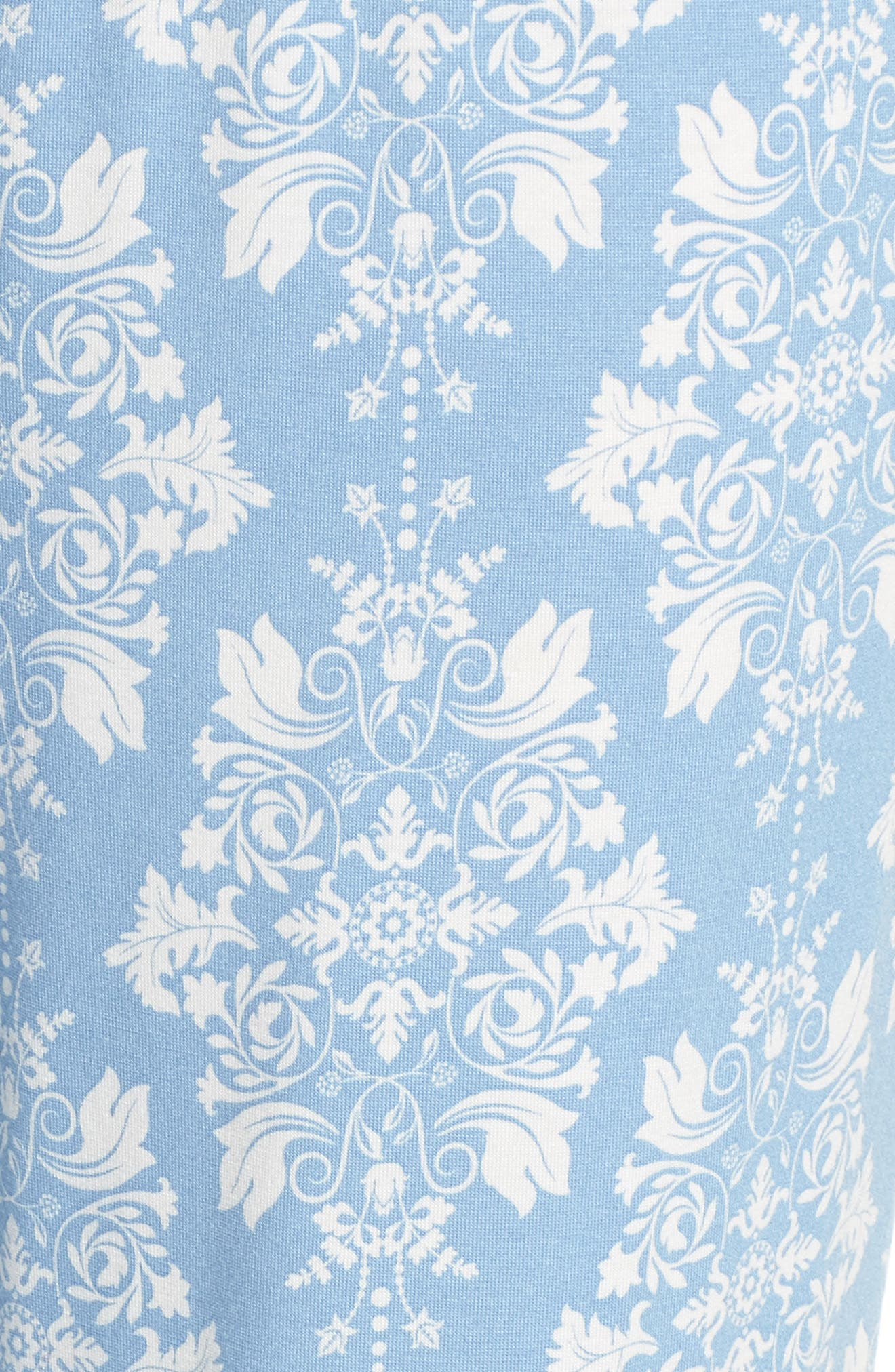 Jersey Pajama Pants,                             Alternate thumbnail 7, color,                             Blue