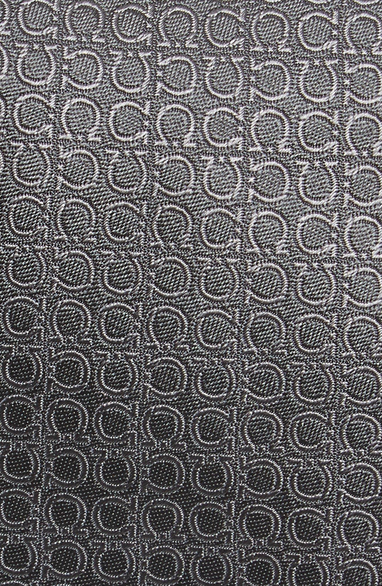 Erve Gancini Silk Tie,                             Alternate thumbnail 2, color,                             Grey