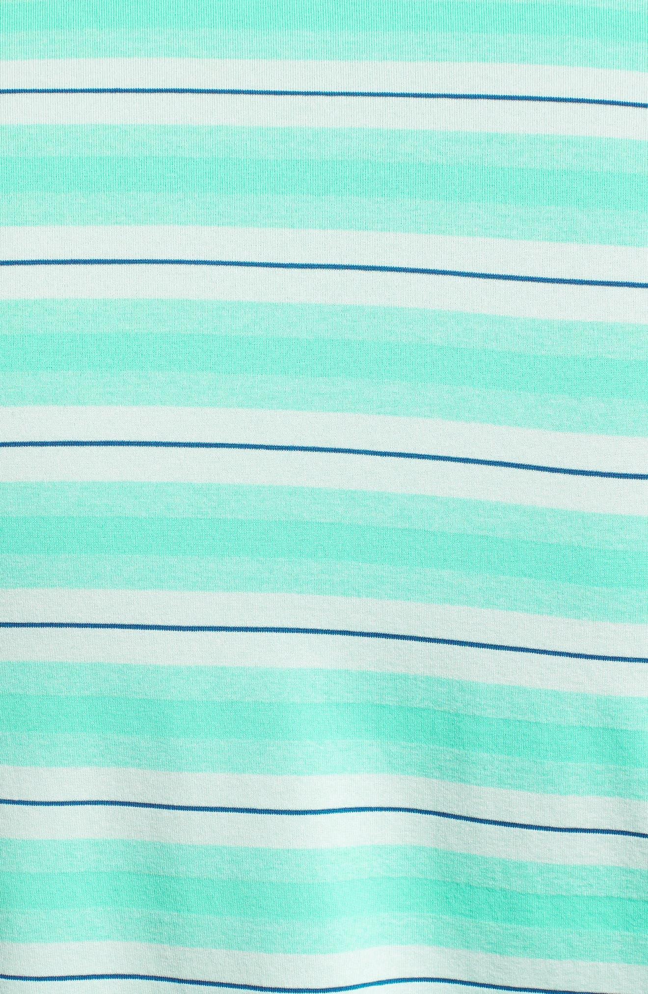 Alternate Image 5  - Under Armour Threadborne Boundless Regular Fit Polo Shirt