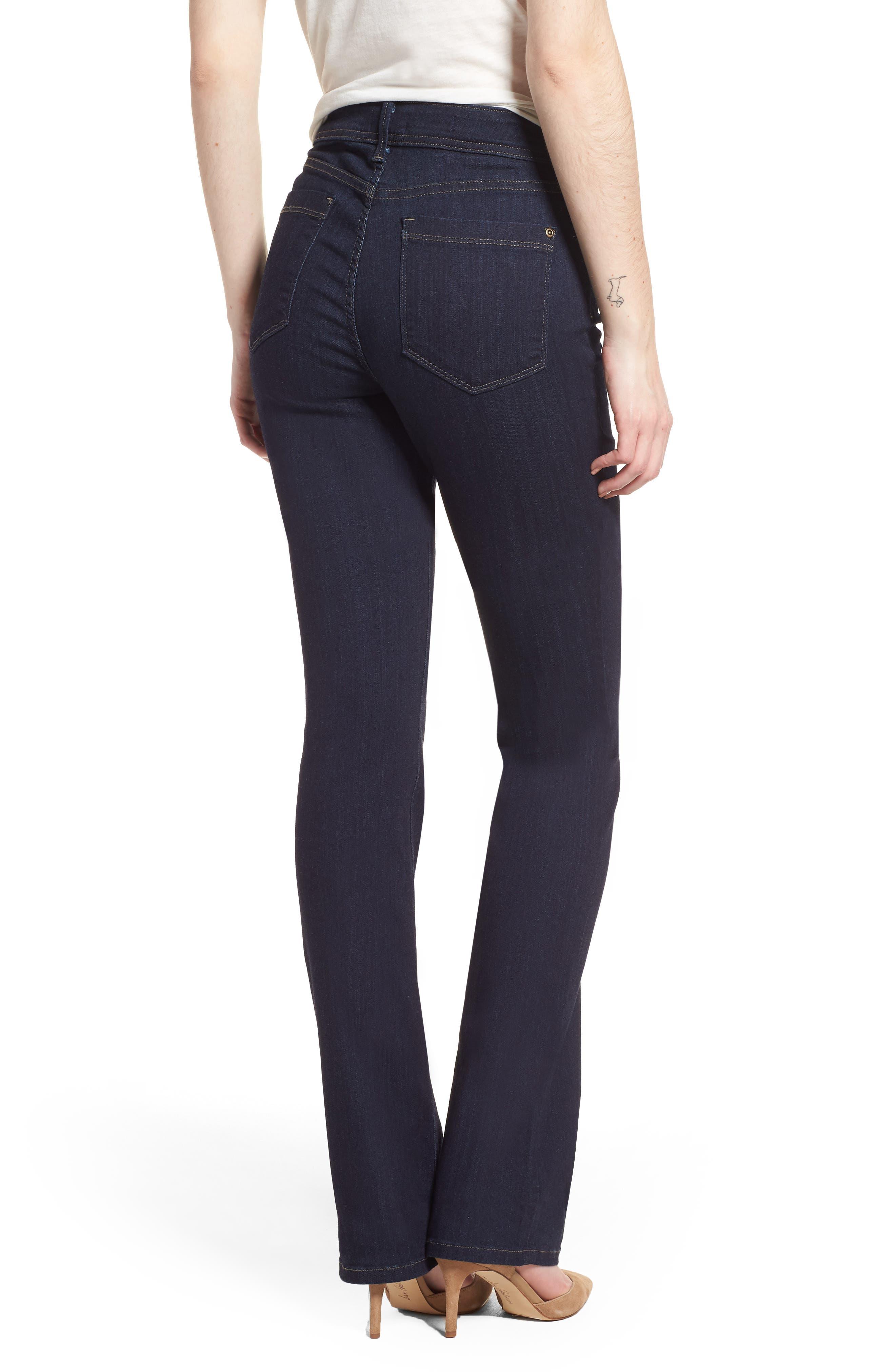 Billie Mini Bootcut Jeans,                             Alternate thumbnail 2, color,                             Mabel