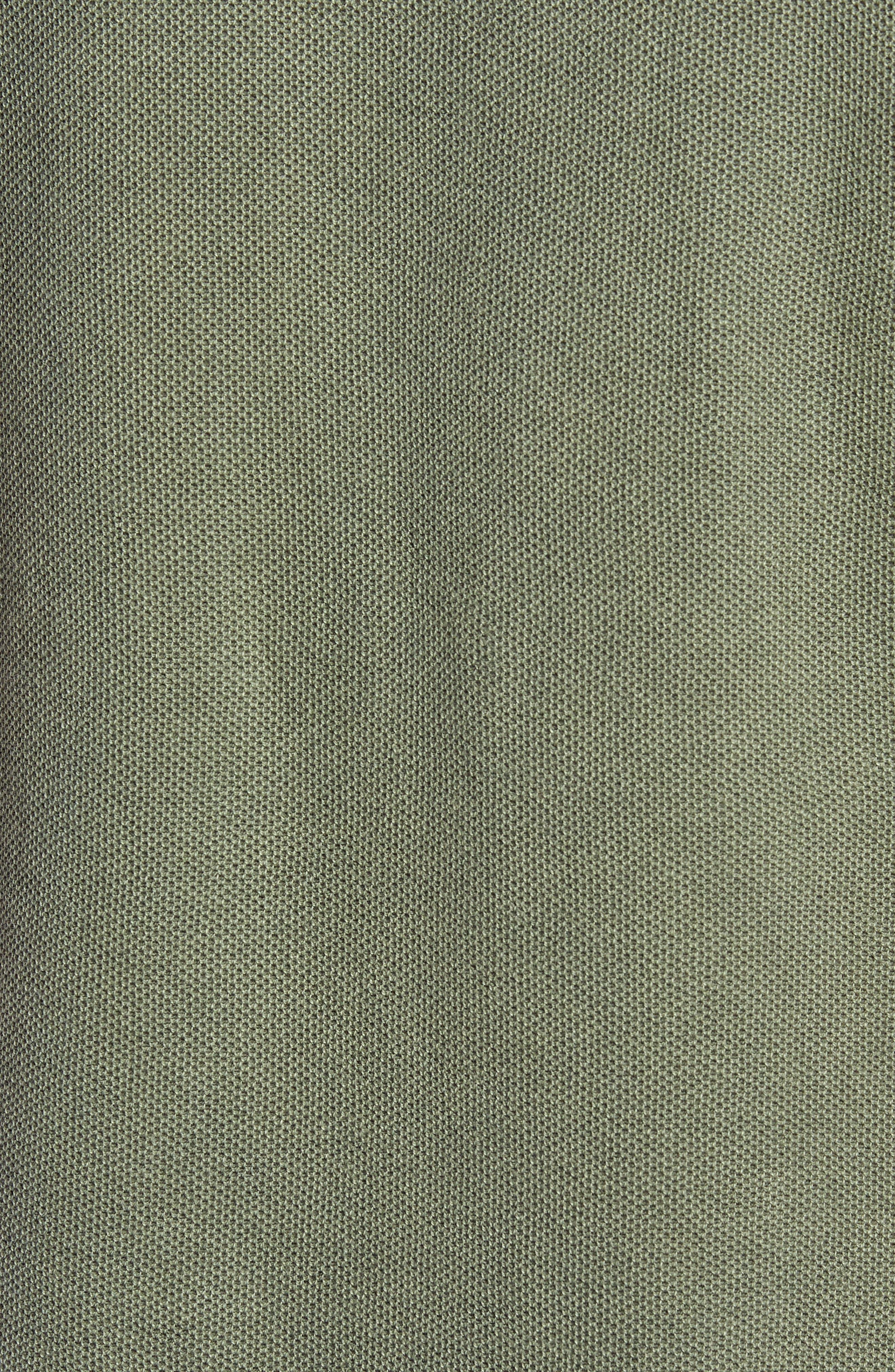 Piqué Polo,                             Alternate thumbnail 5, color,                             Light Olive