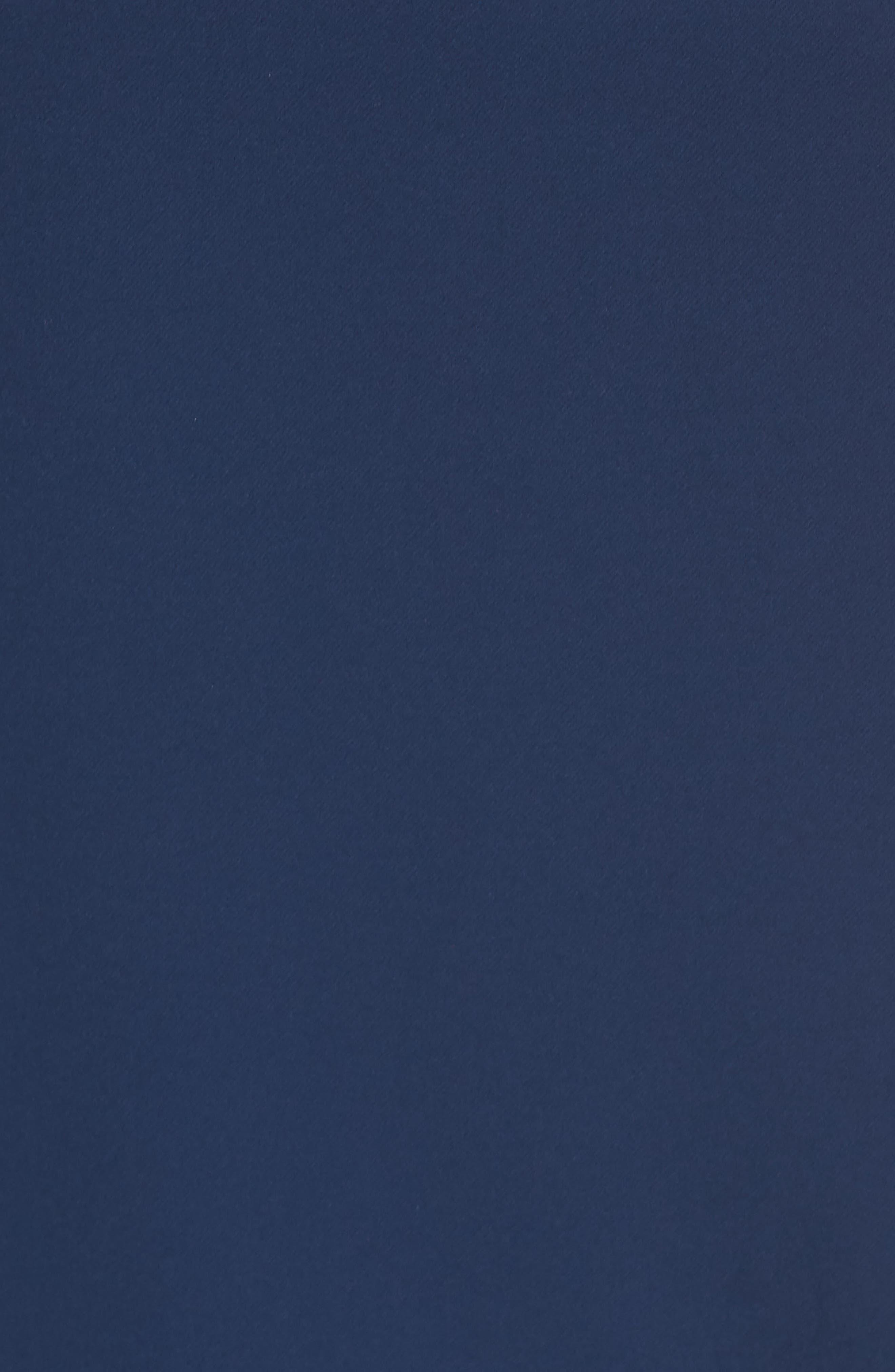 Laguna Faux Wrap Ruffle Gown,                             Alternate thumbnail 5, color,                             Blue