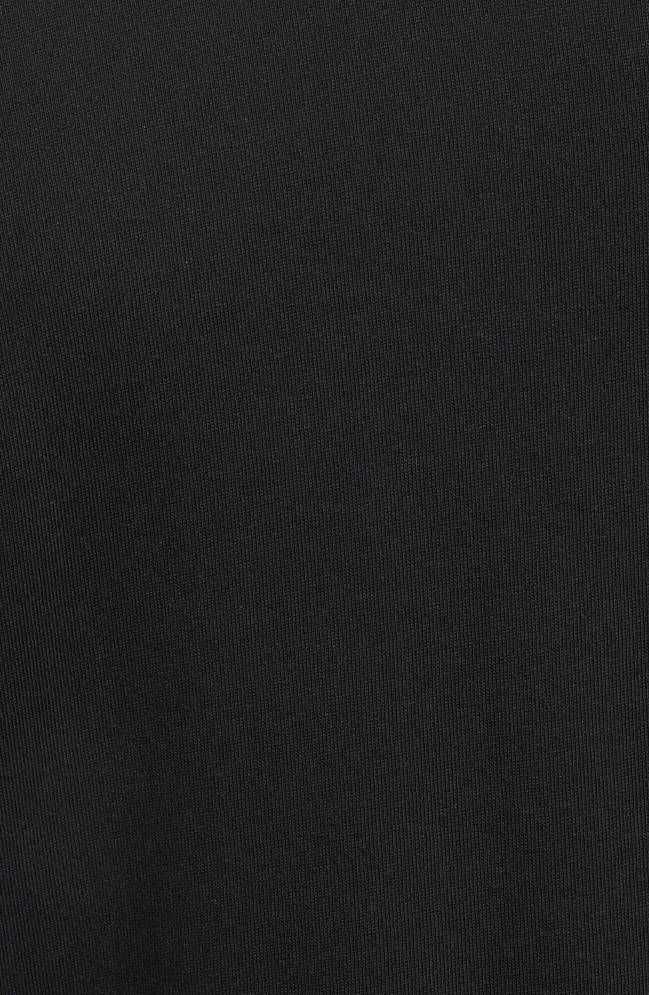 Dry Unit T-Shirt,                             Alternate thumbnail 5, color,                             Black/ Black